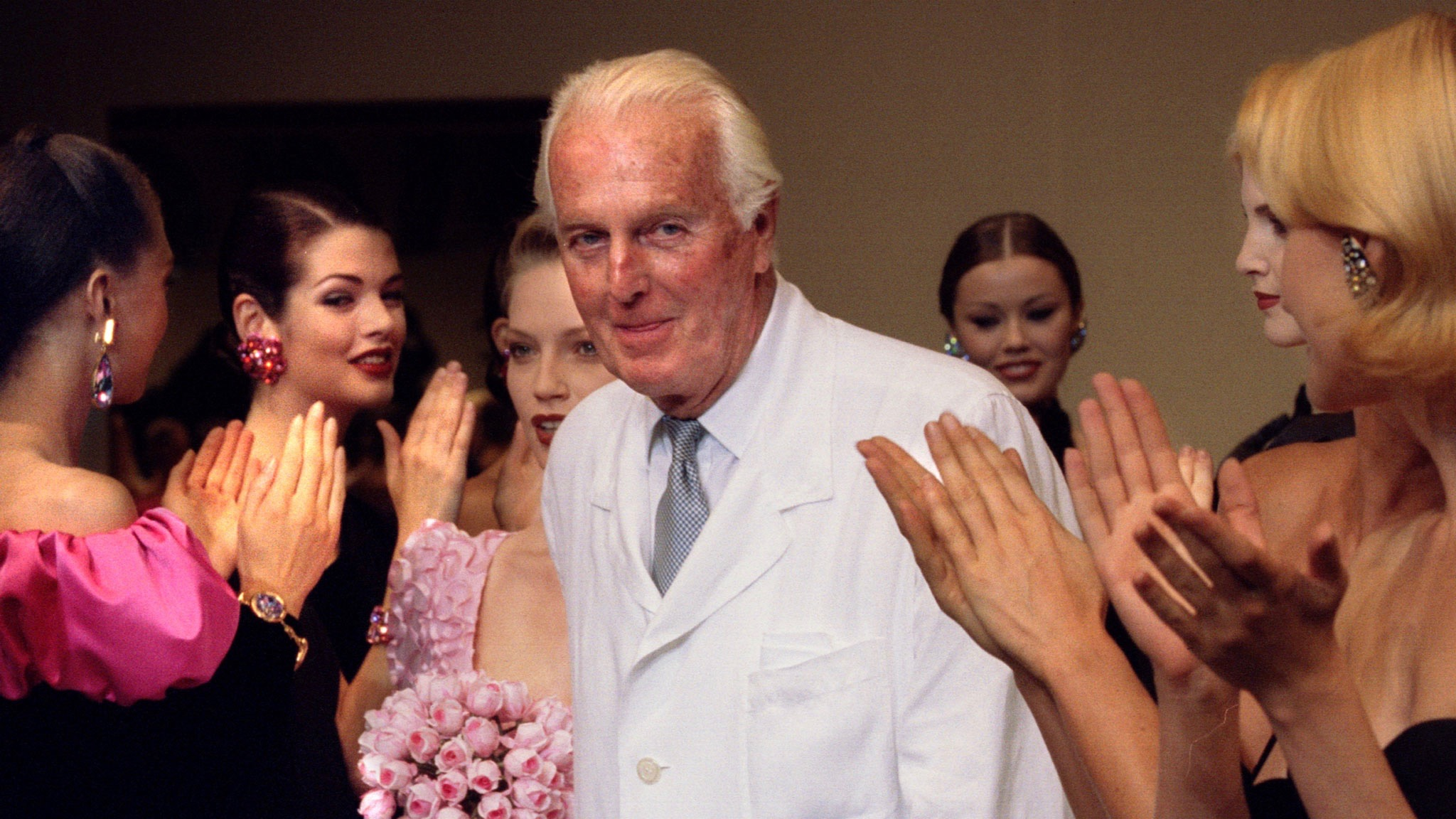 The late great Hubert de Givenchy in 1995.