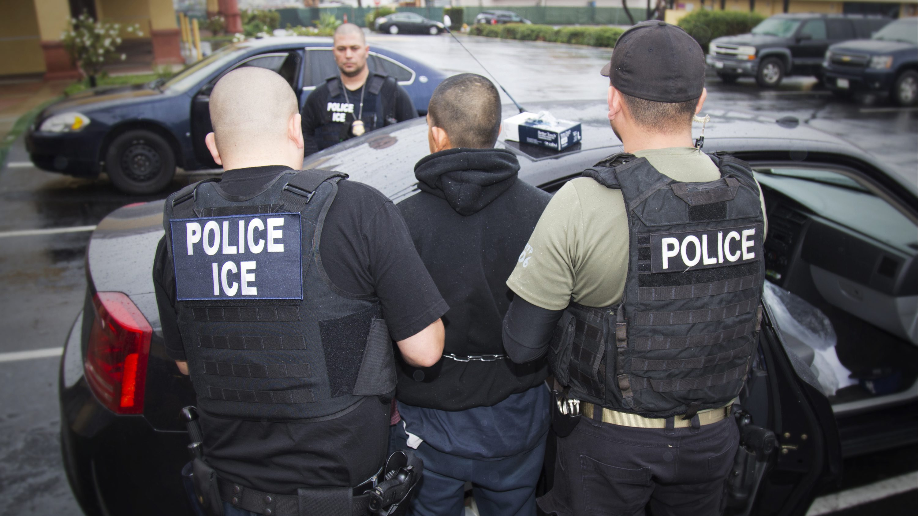 U.S. Immigration and Customs Enforcement, foreign nationals