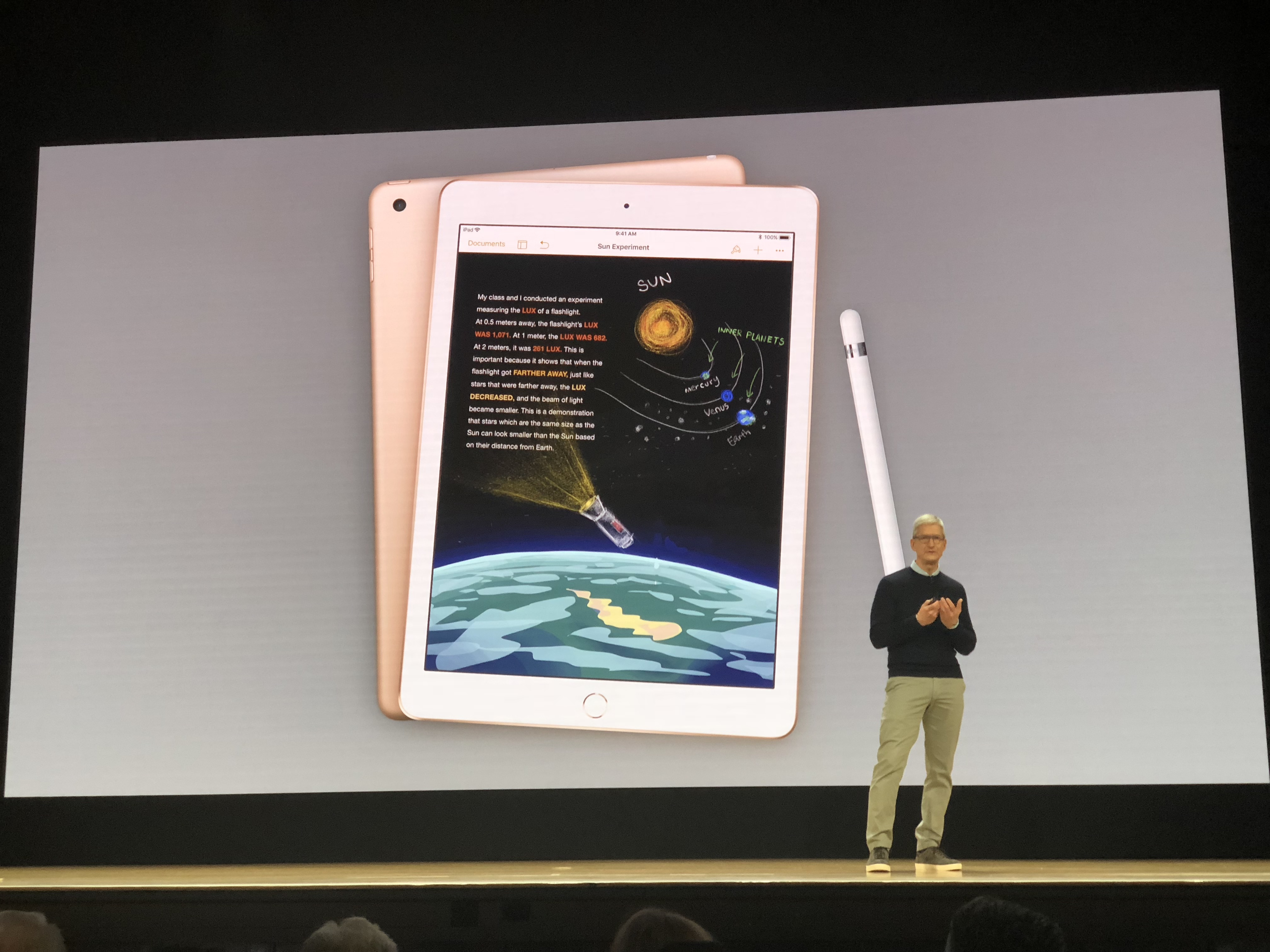 Apple unveils new iPad with Apple Pencil support to take on Chromebooks