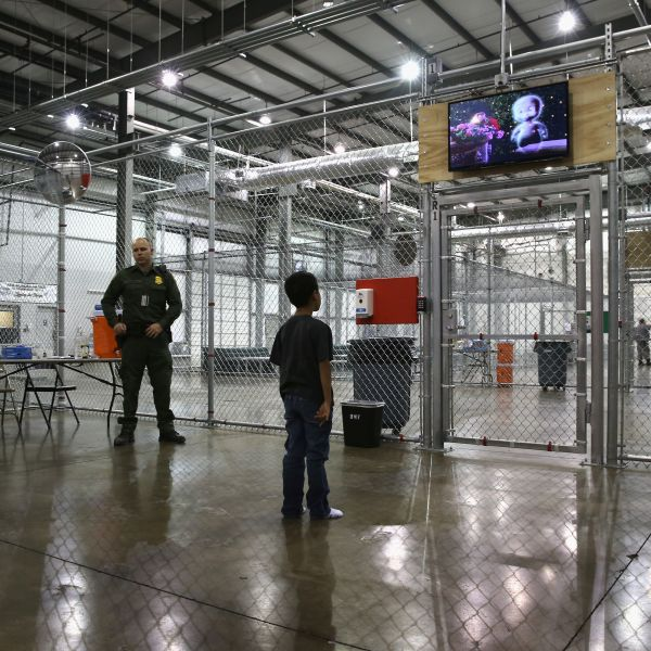U.S. Border Patrol Houses Unaccompanied Minors In Detention Center