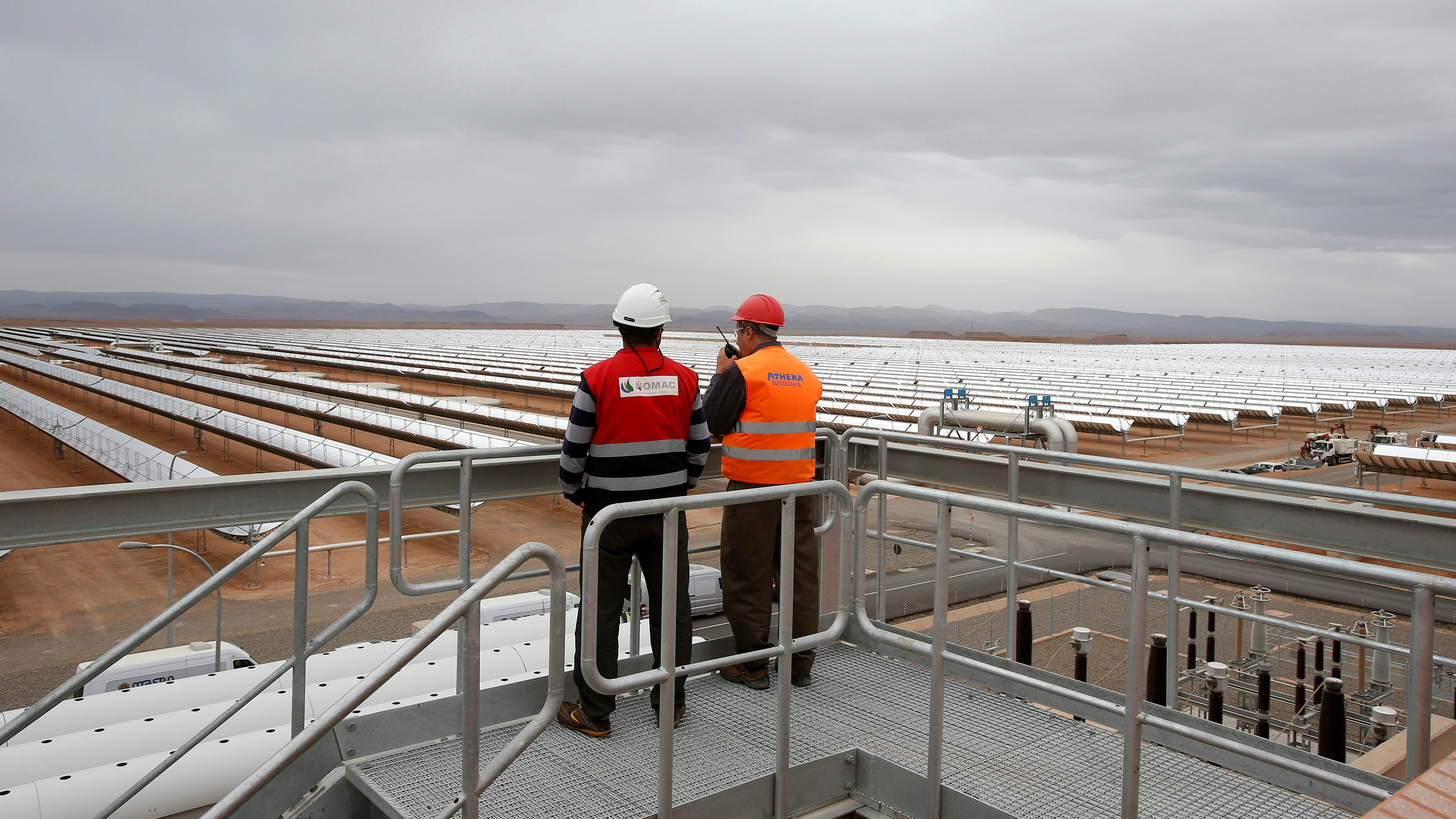 A thermosolar power plant is pictured at Noor II Ouarzazate, Morocco, November 4, 2016. Picture taken November 4, 2016.