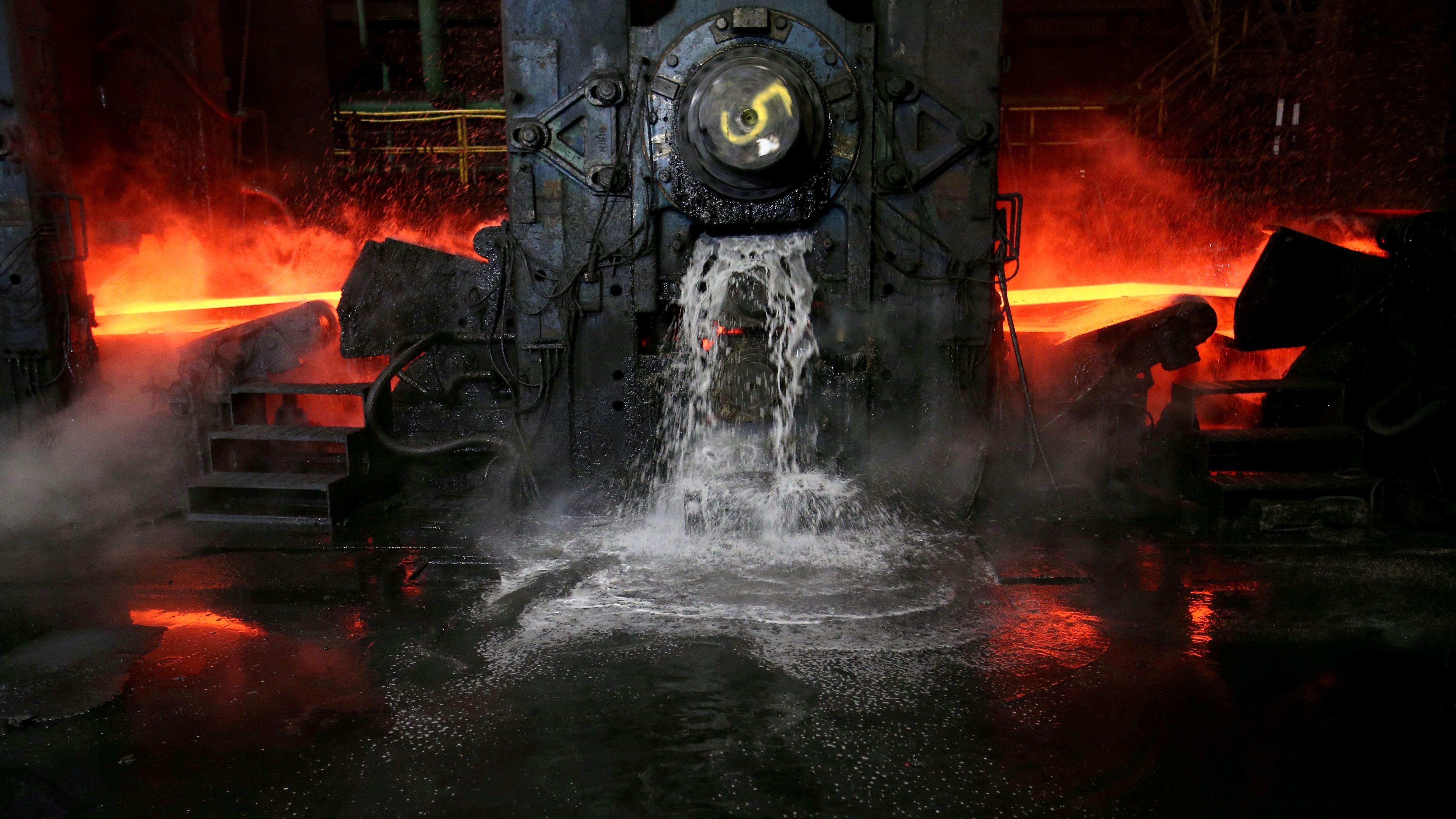 Pennsylvania steel mill