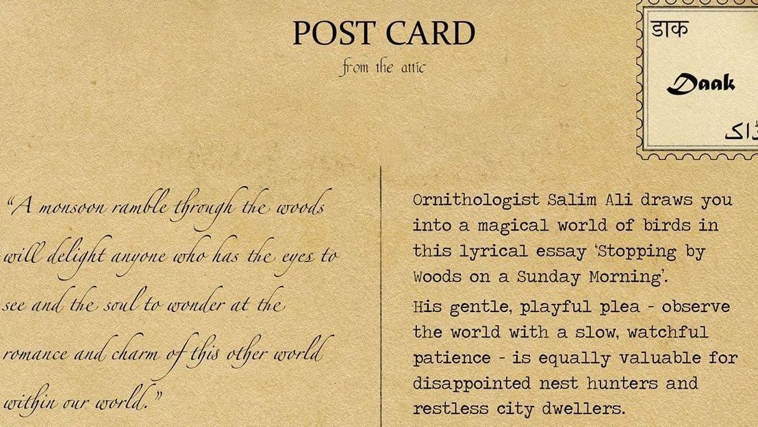Lost Art Of Letter Writing And Other