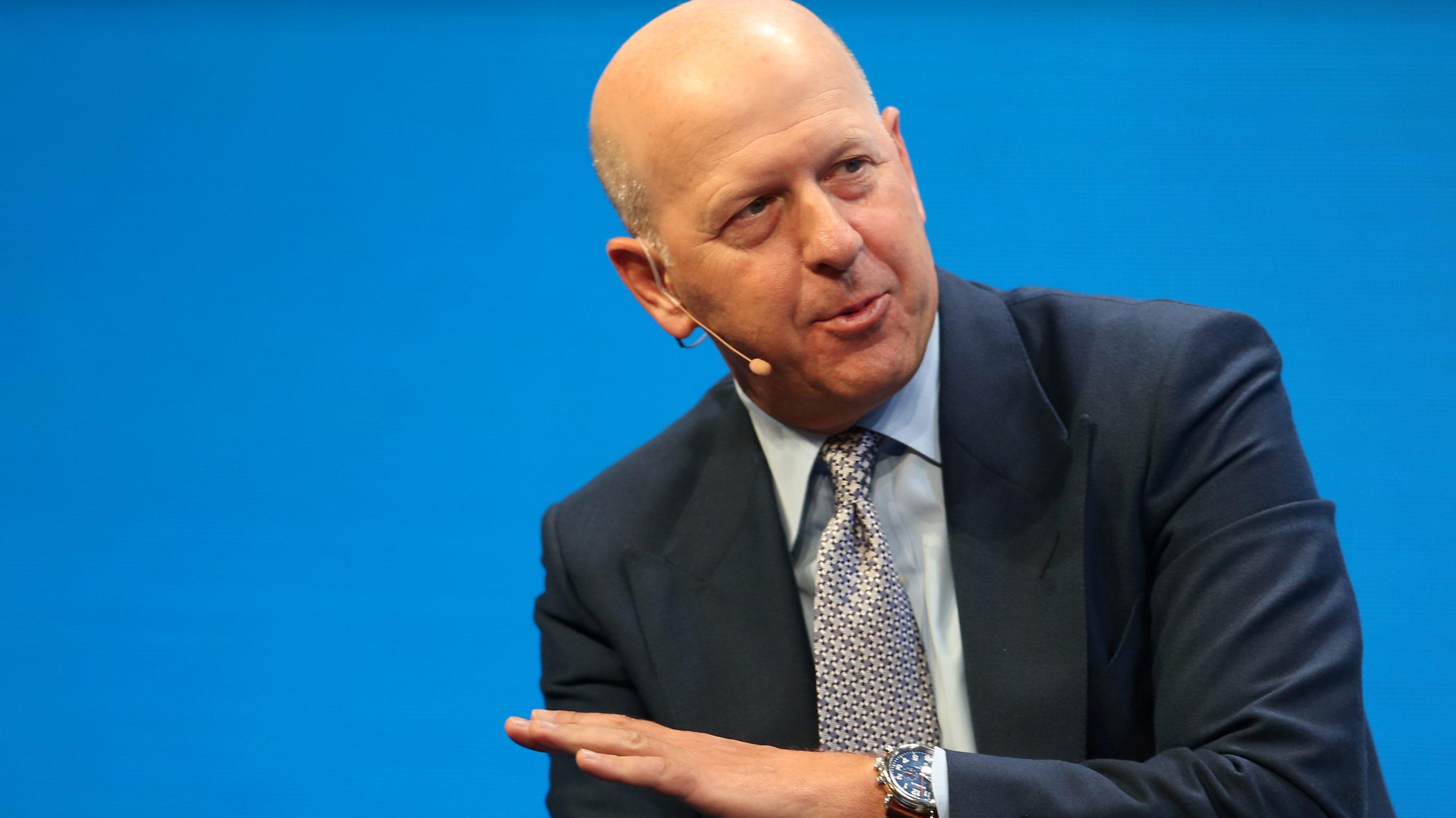 David Solomon of Goldman Sachs