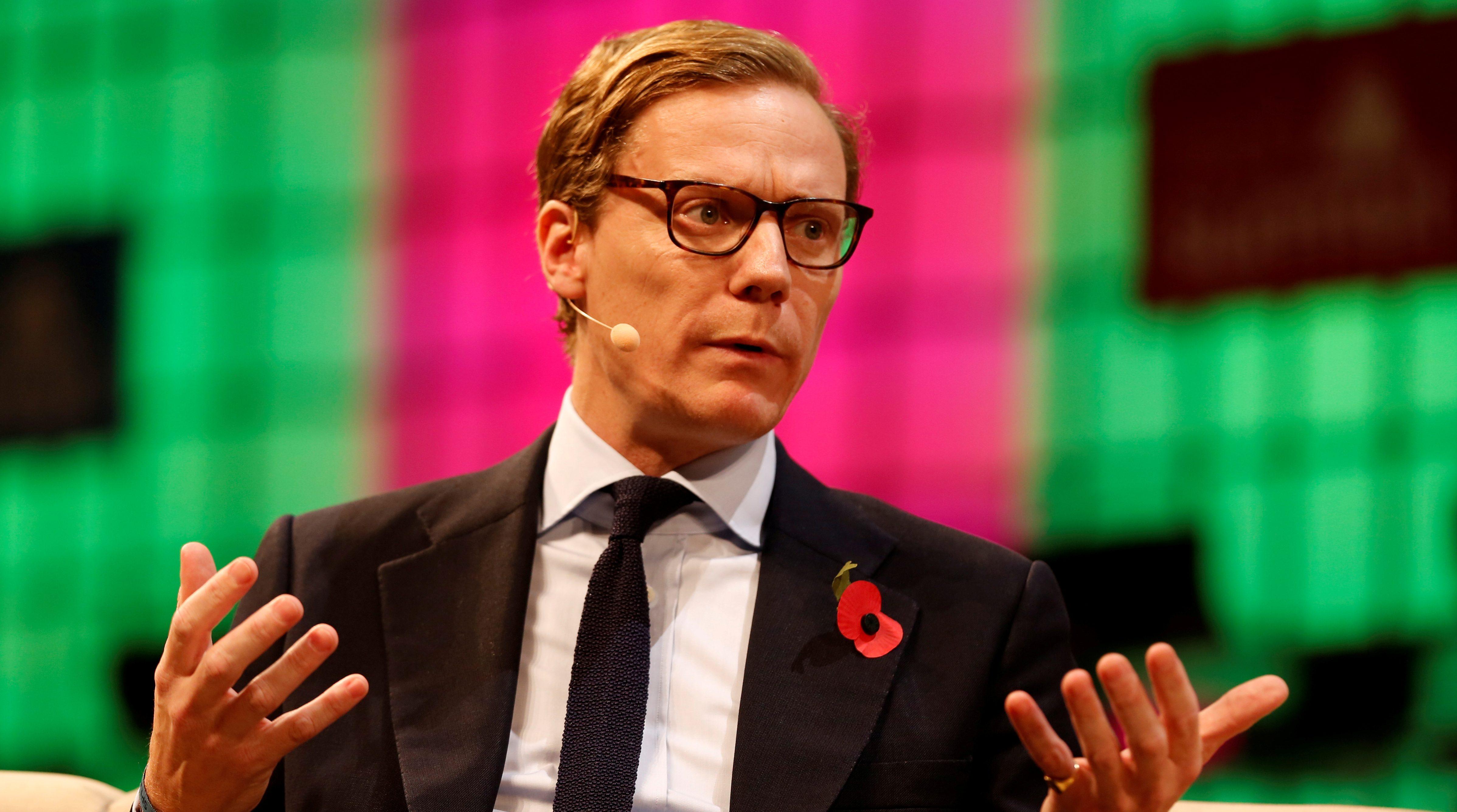 CEO of Cambridge Analytica, Alexander Nix