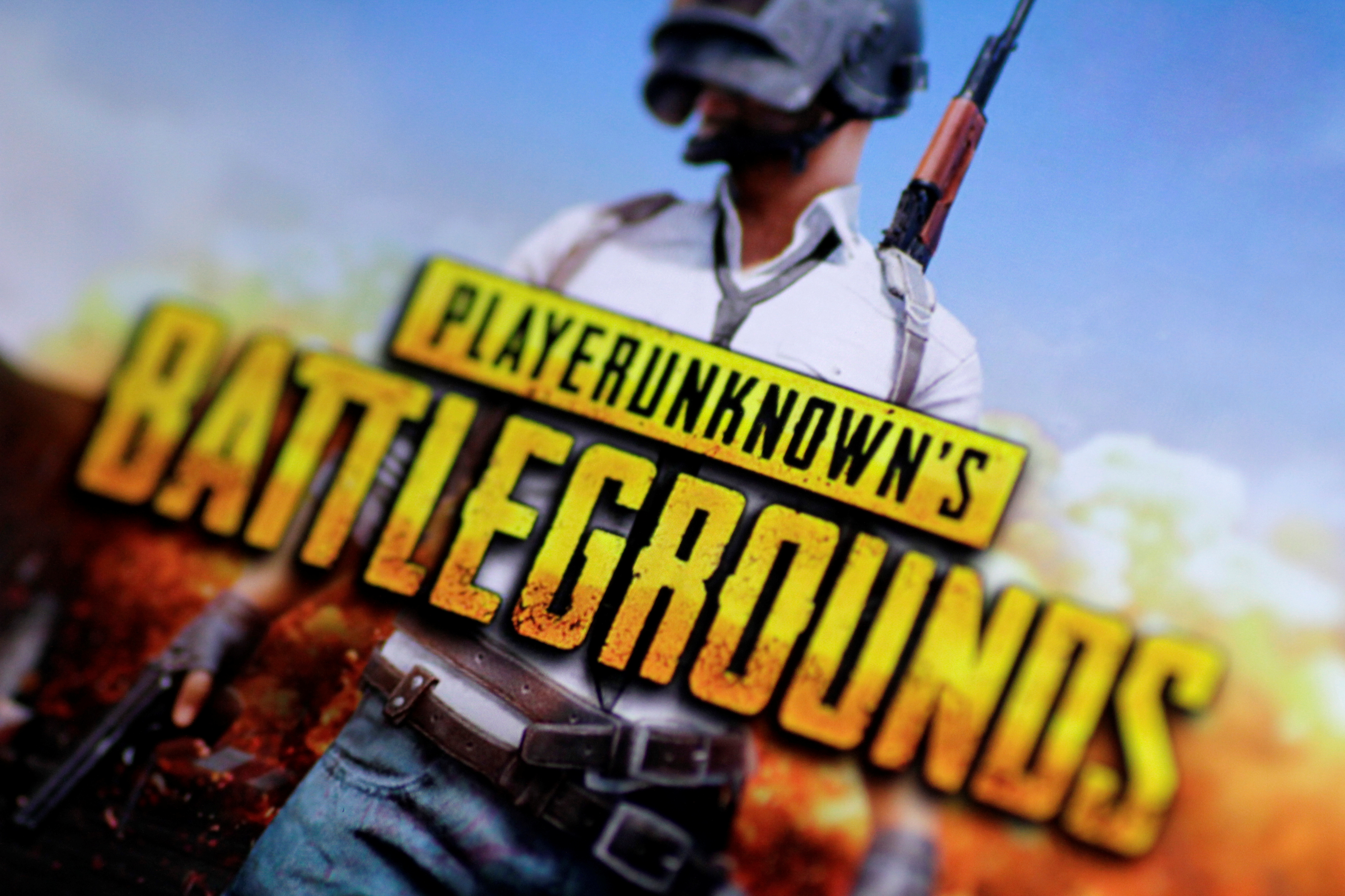 The PlayerUnknown's Battlegrounds video game is seen in this illustration photo November 22, 2017.