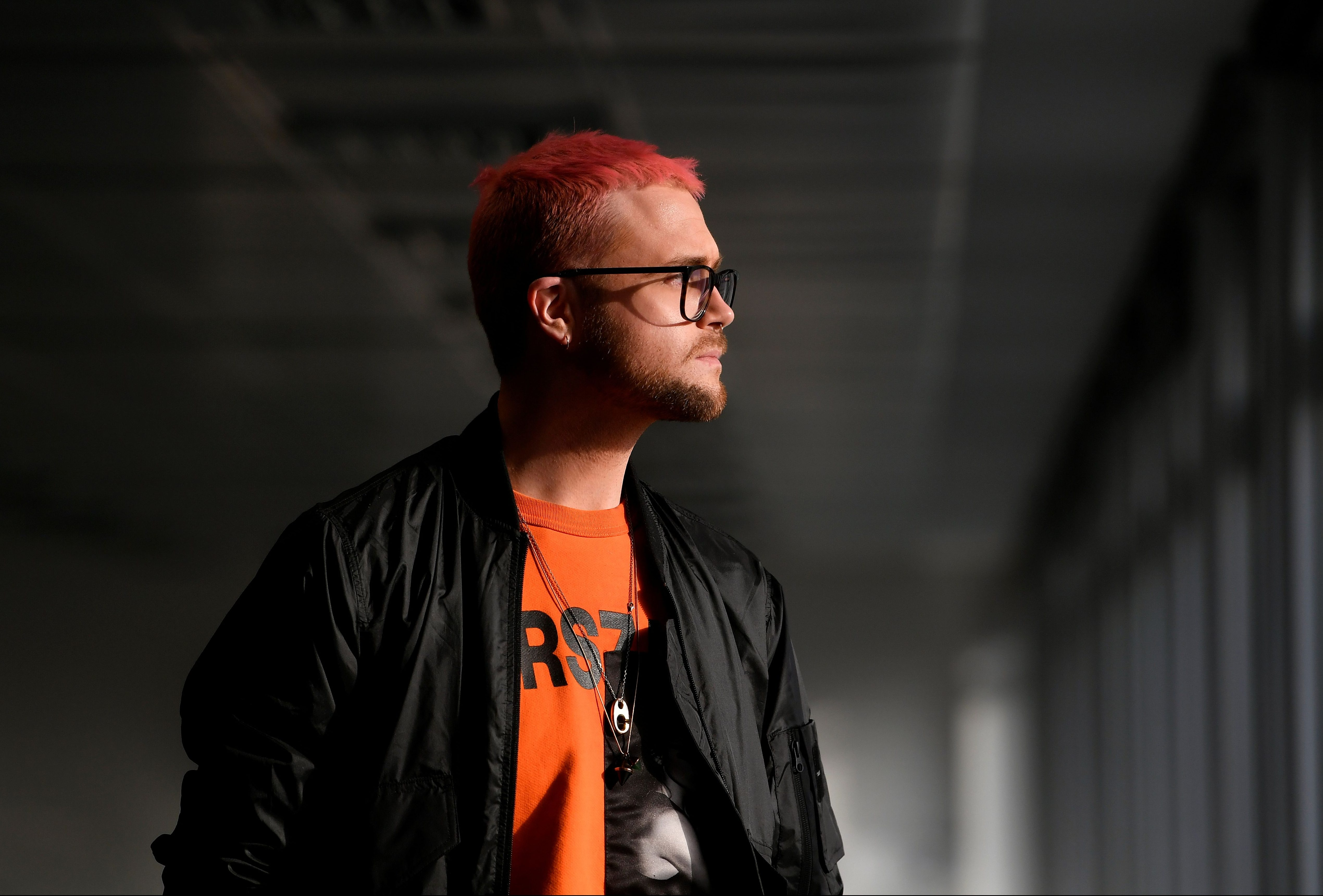 Cambridge Analytica whistleblower Christopher Wylie at a news conference in central London, Britain, March 26, 2018.