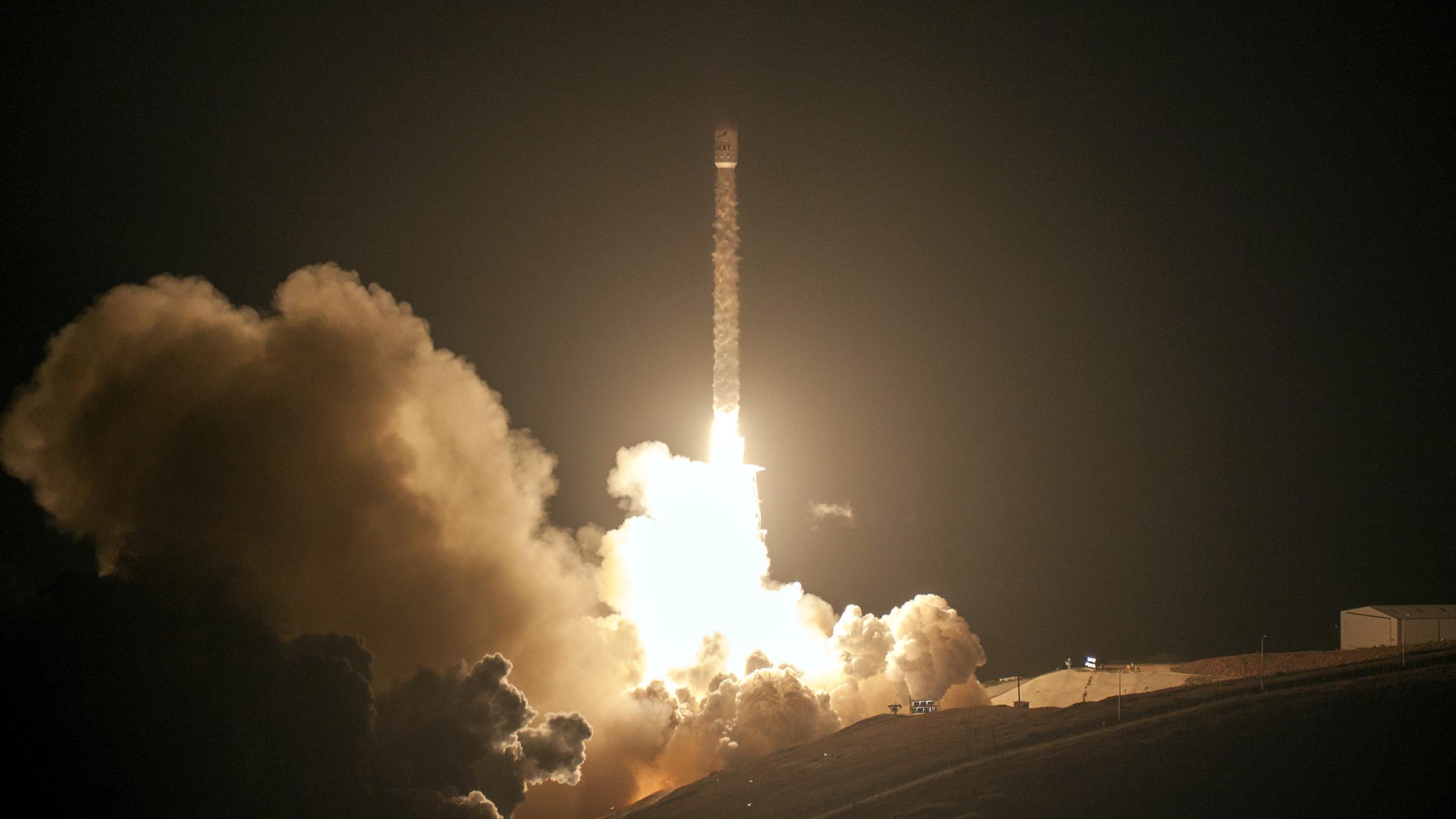 This rocket launched ten Iridium satellites in October 2017