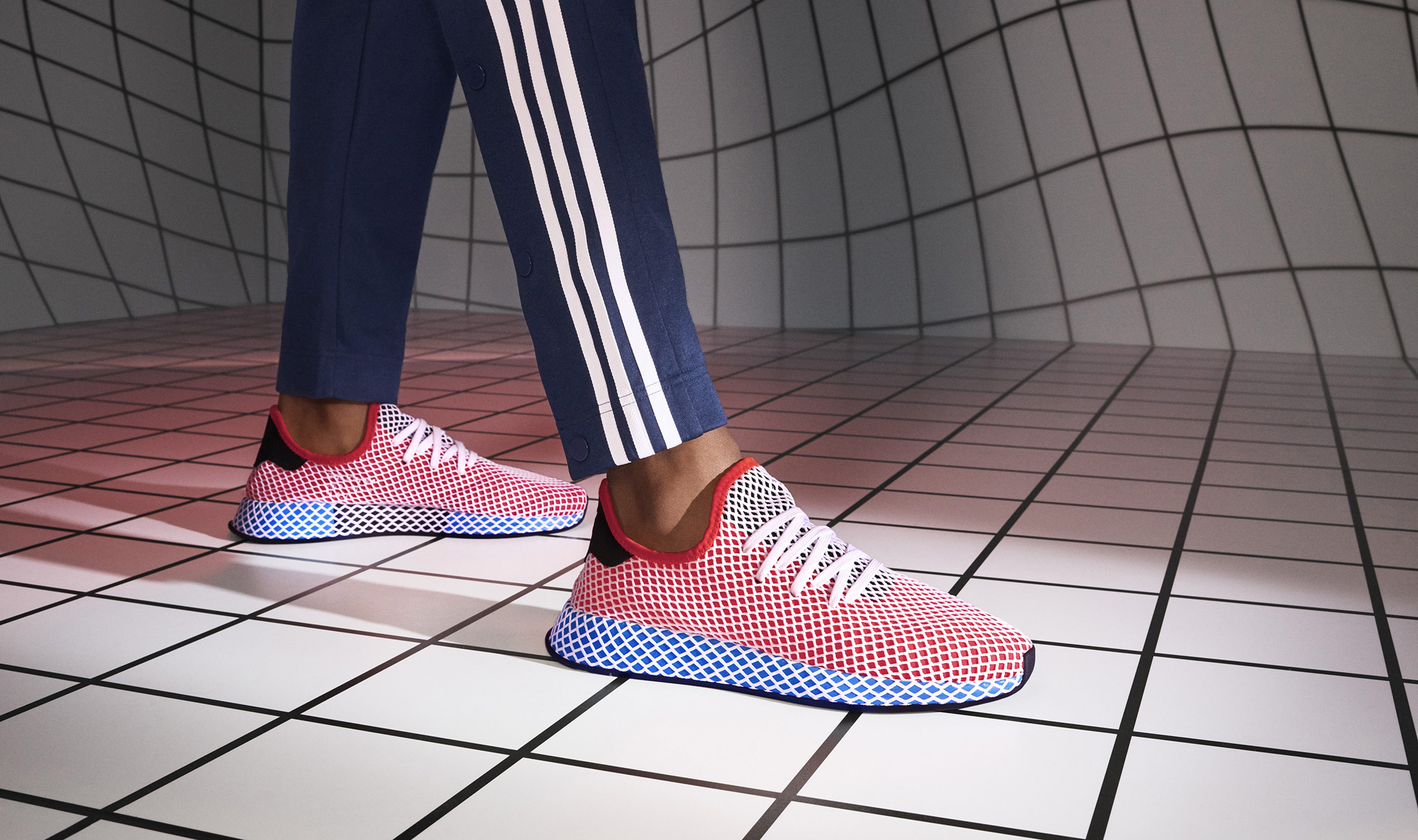best website 716e5 81cd4 Adidas designed the silhouette of its latest shoe with Instagram in mind