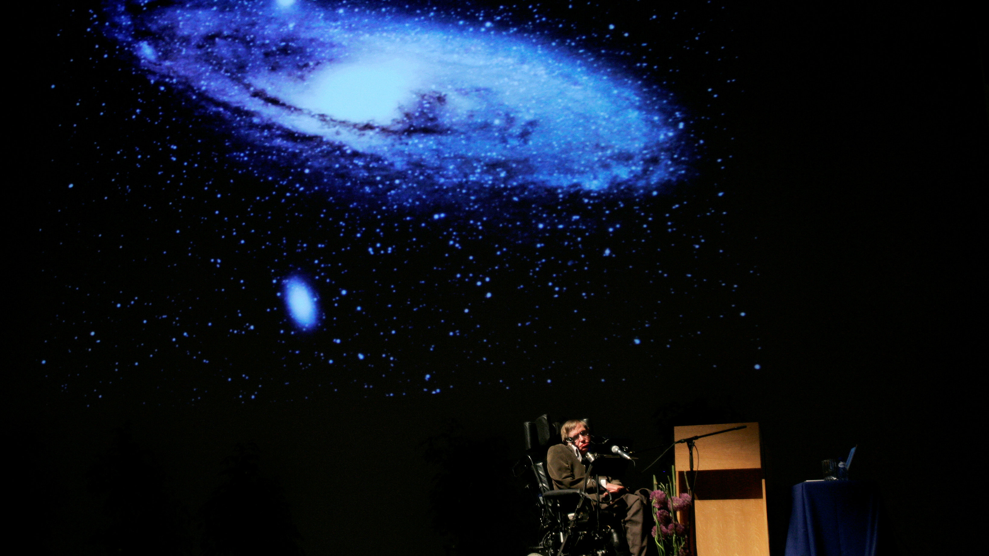 Stephen Hawking, one of the world's greatest minds, was an inspiration for atheists