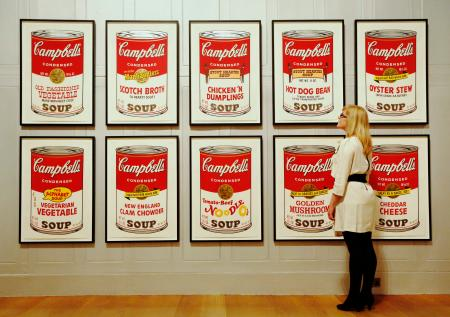 "Andy Warhol: ""Campbell's Soup II."""