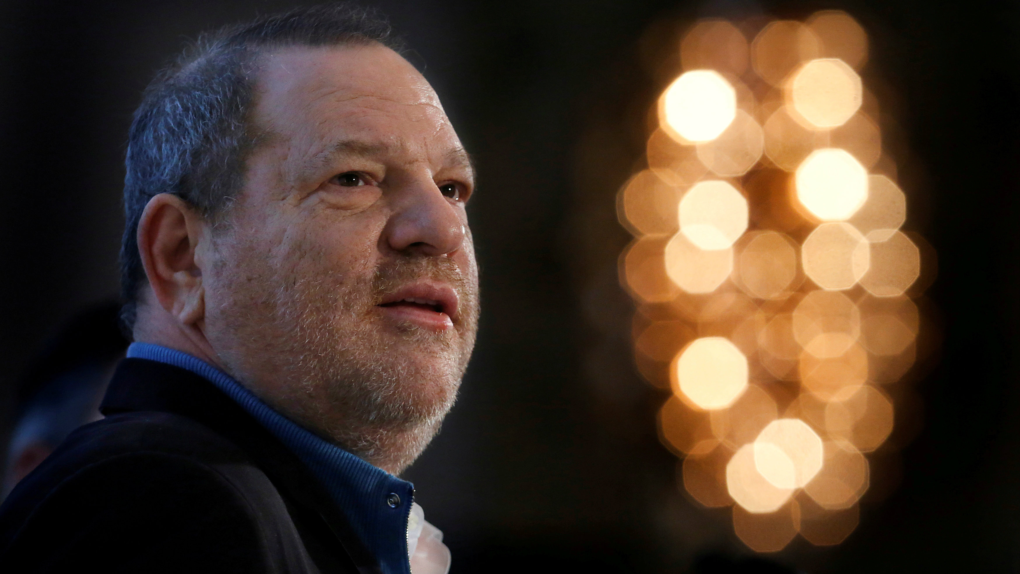 Harvey Weinstein speaks at the UBS 40th Annual Global Media and Communications Conference in New York, NY, U.S., December 5, 2012