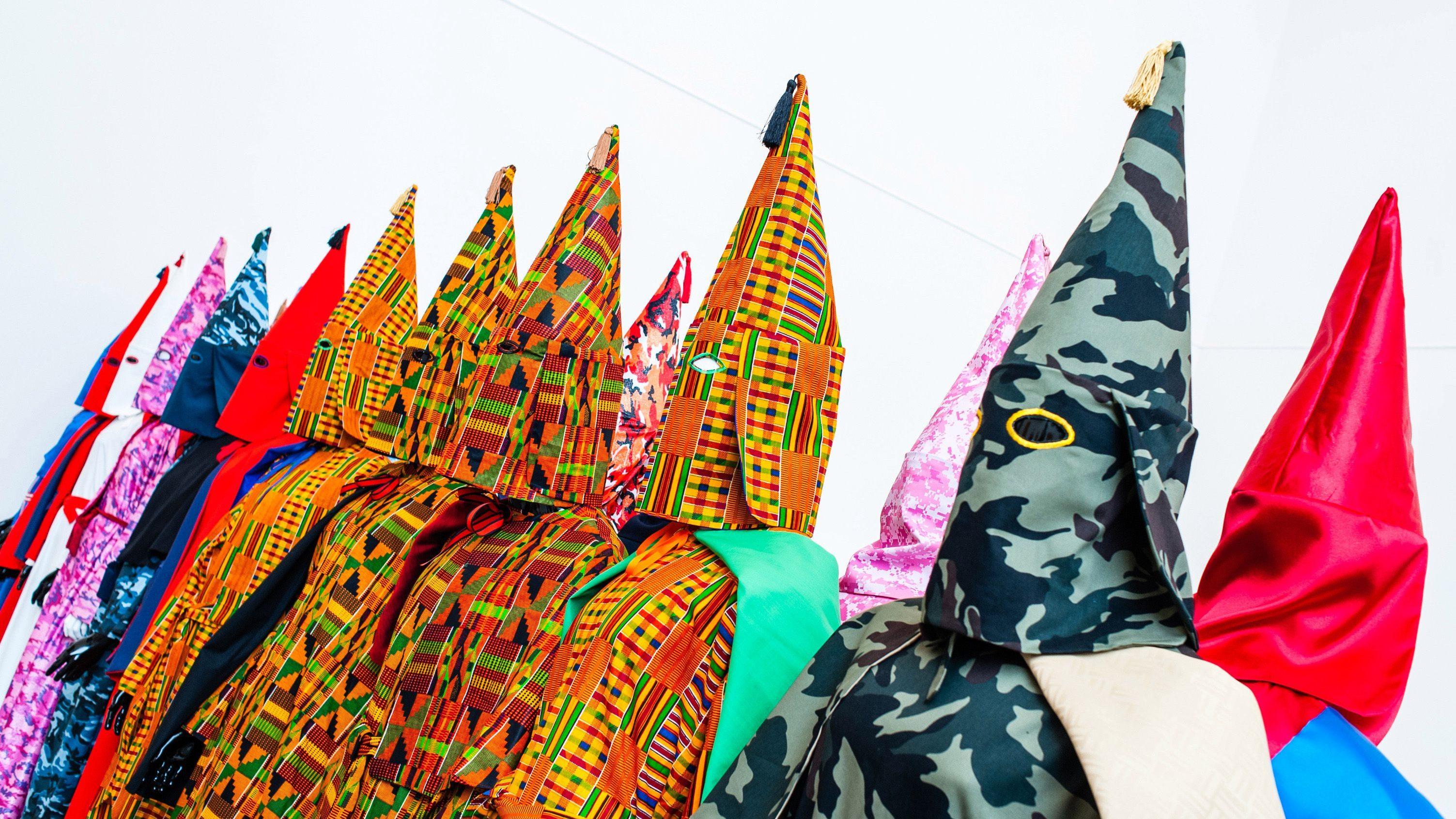 TED Fellow Paul Rucker creates bespoke KKK robes to