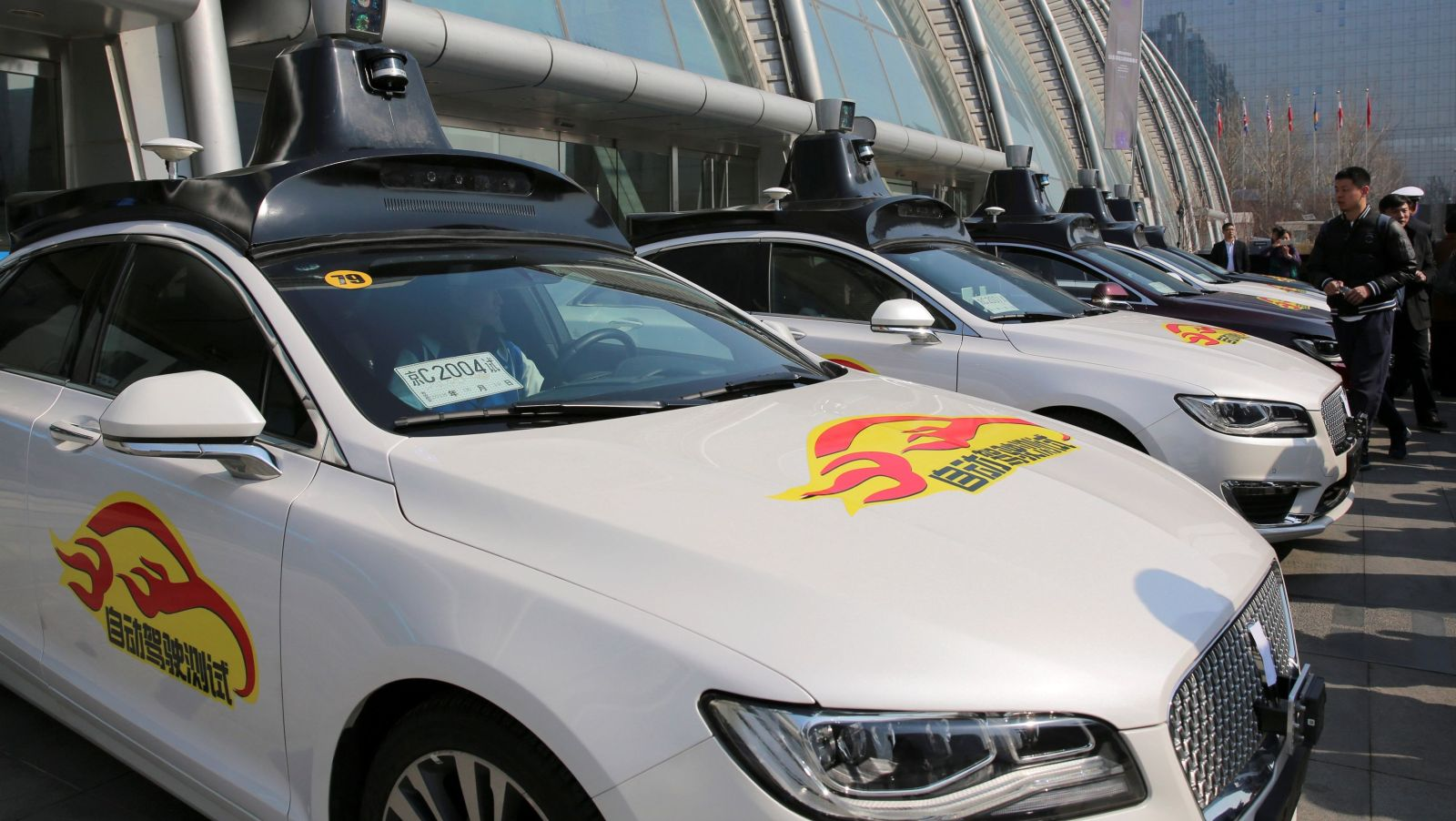 China's tech giants are venturing into autonomous driving