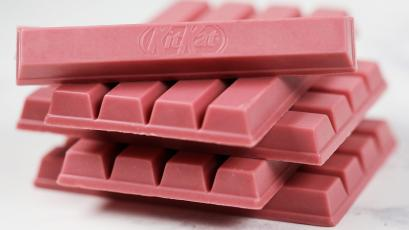 the ruby chocolate kit kat isn t a delicious candy bar it s just