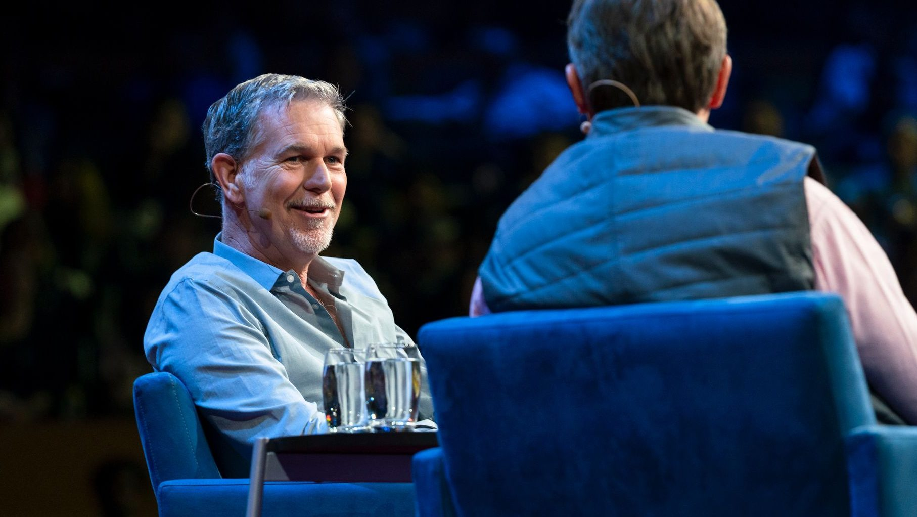 Netflix CEO Reed Hastings at TED 2018.