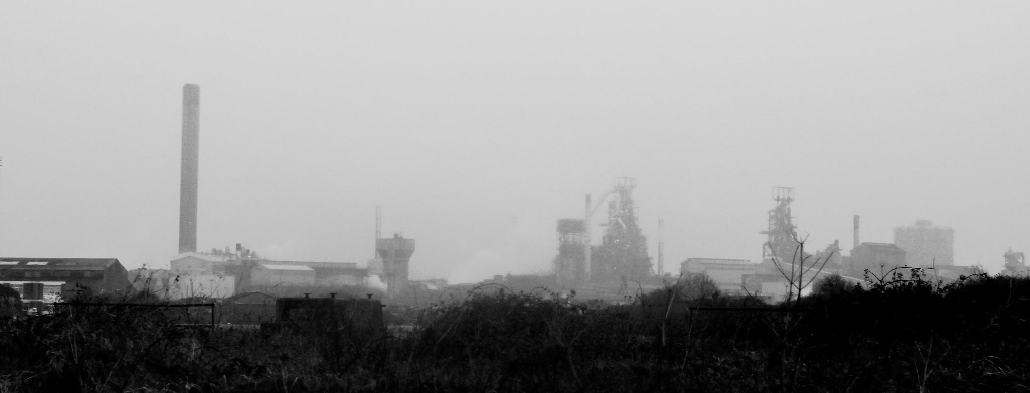 Llanwern Steelworks, Port Talbot, Wales.
