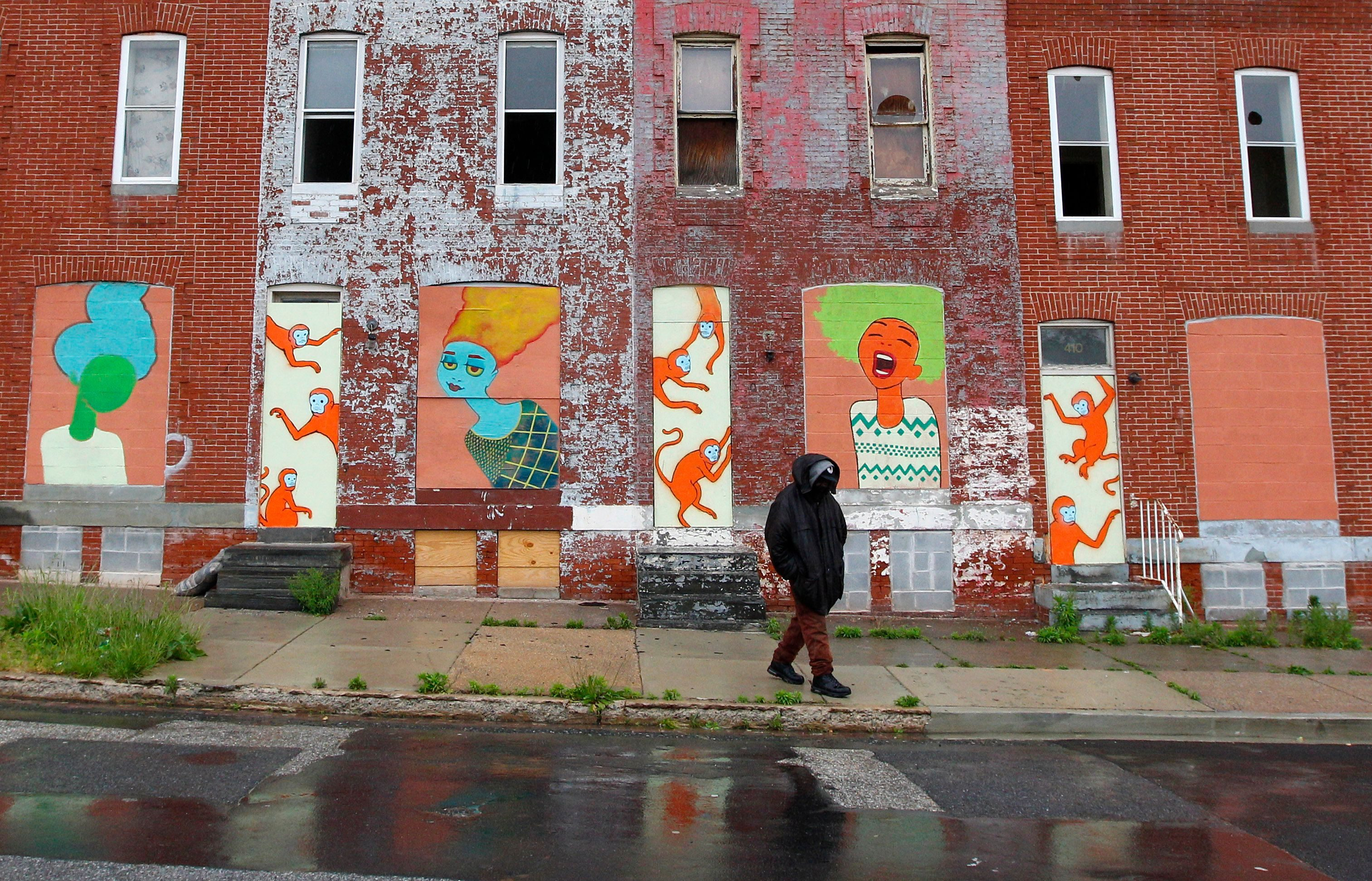 White fight has devastated areas like Baltimore.