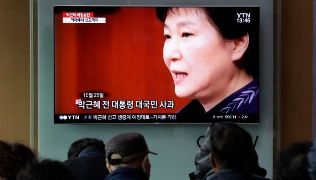 South Korea Corruption Scandal
