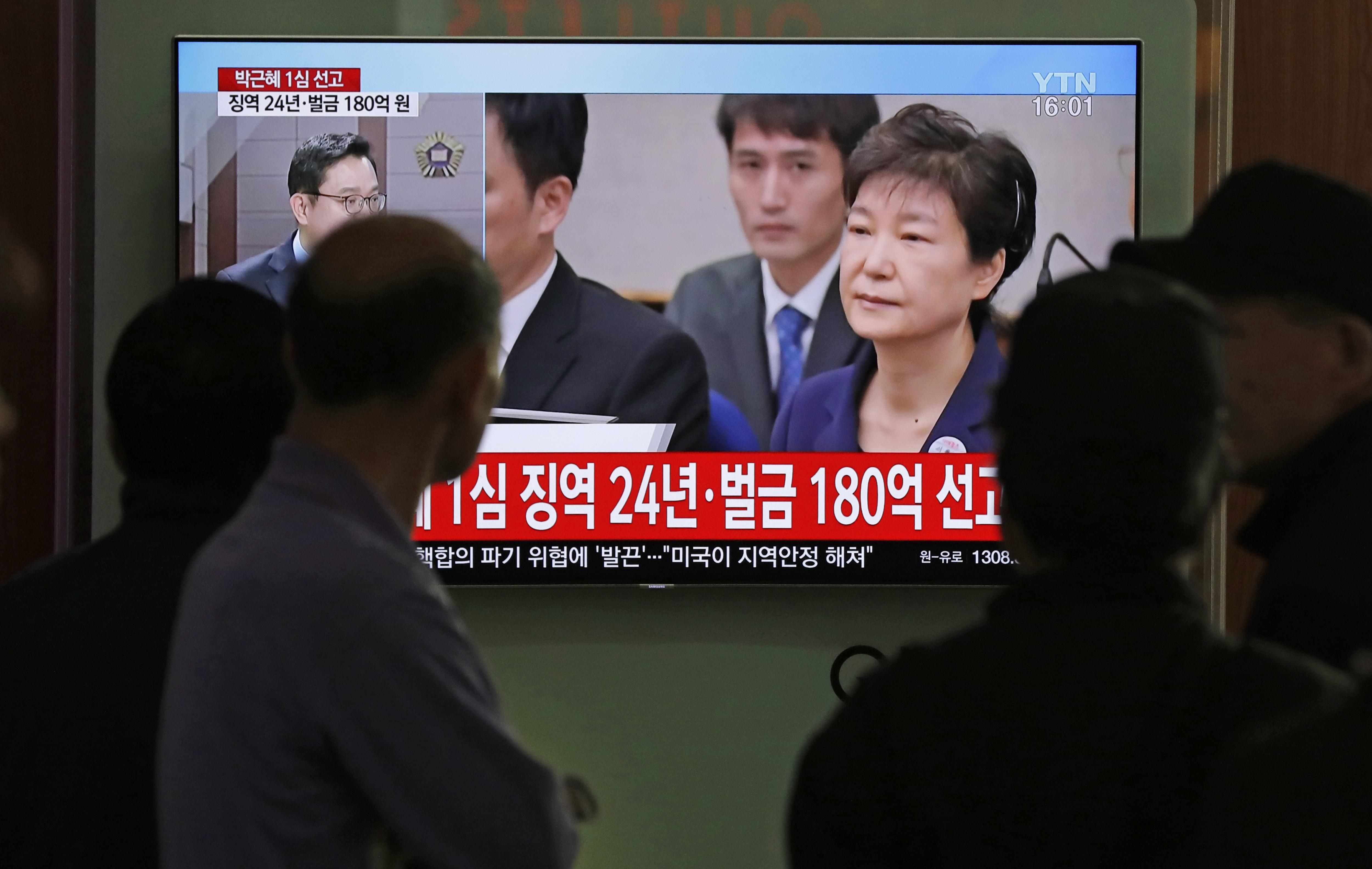 Former Korean president Park Geun-hye's blacklist of artists filled