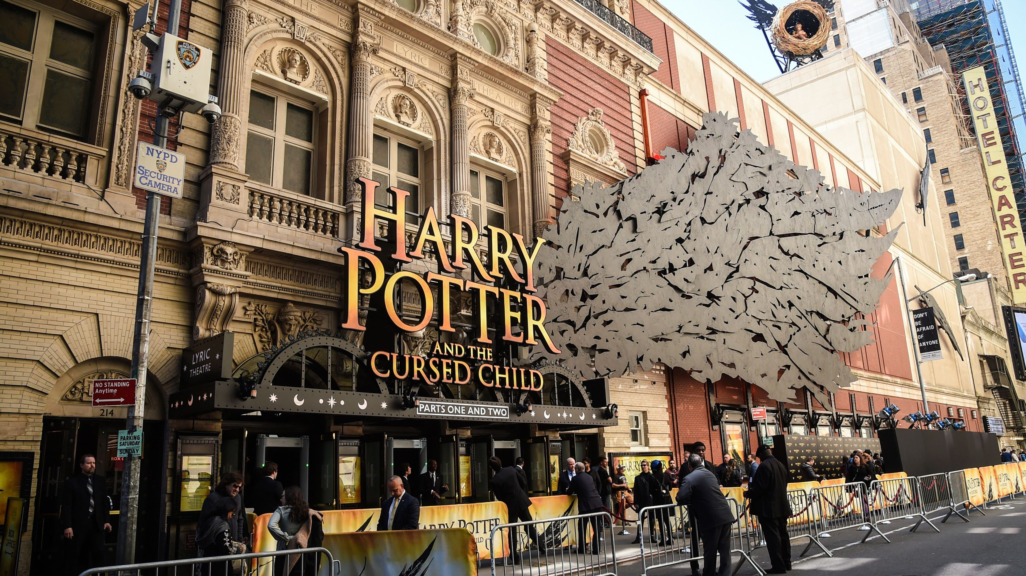 "Harry Potter and the Cursed Child"" Broadway Opening"