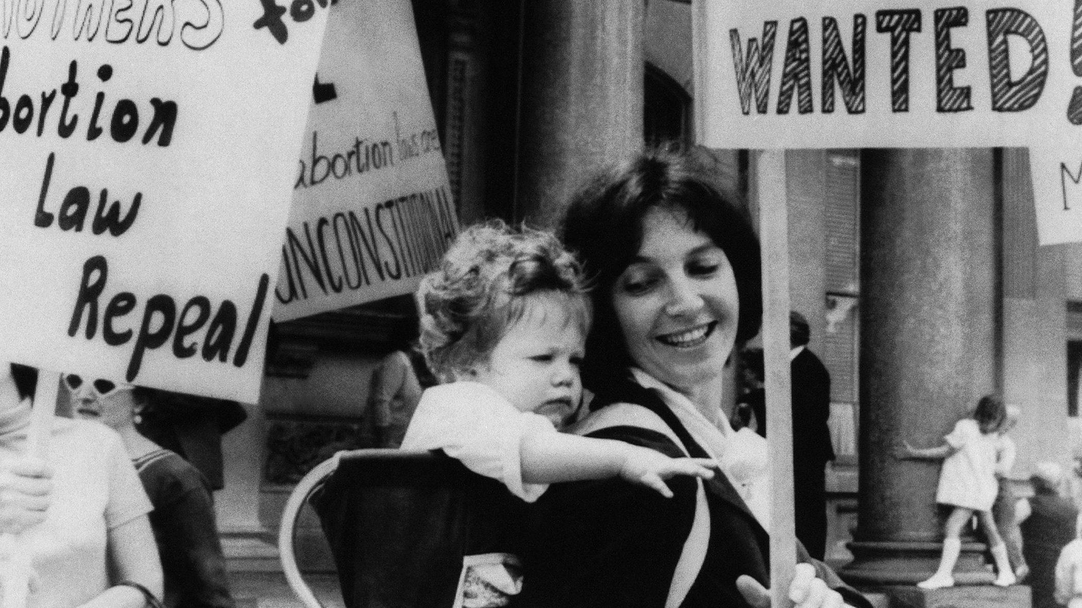 women marching 1969
