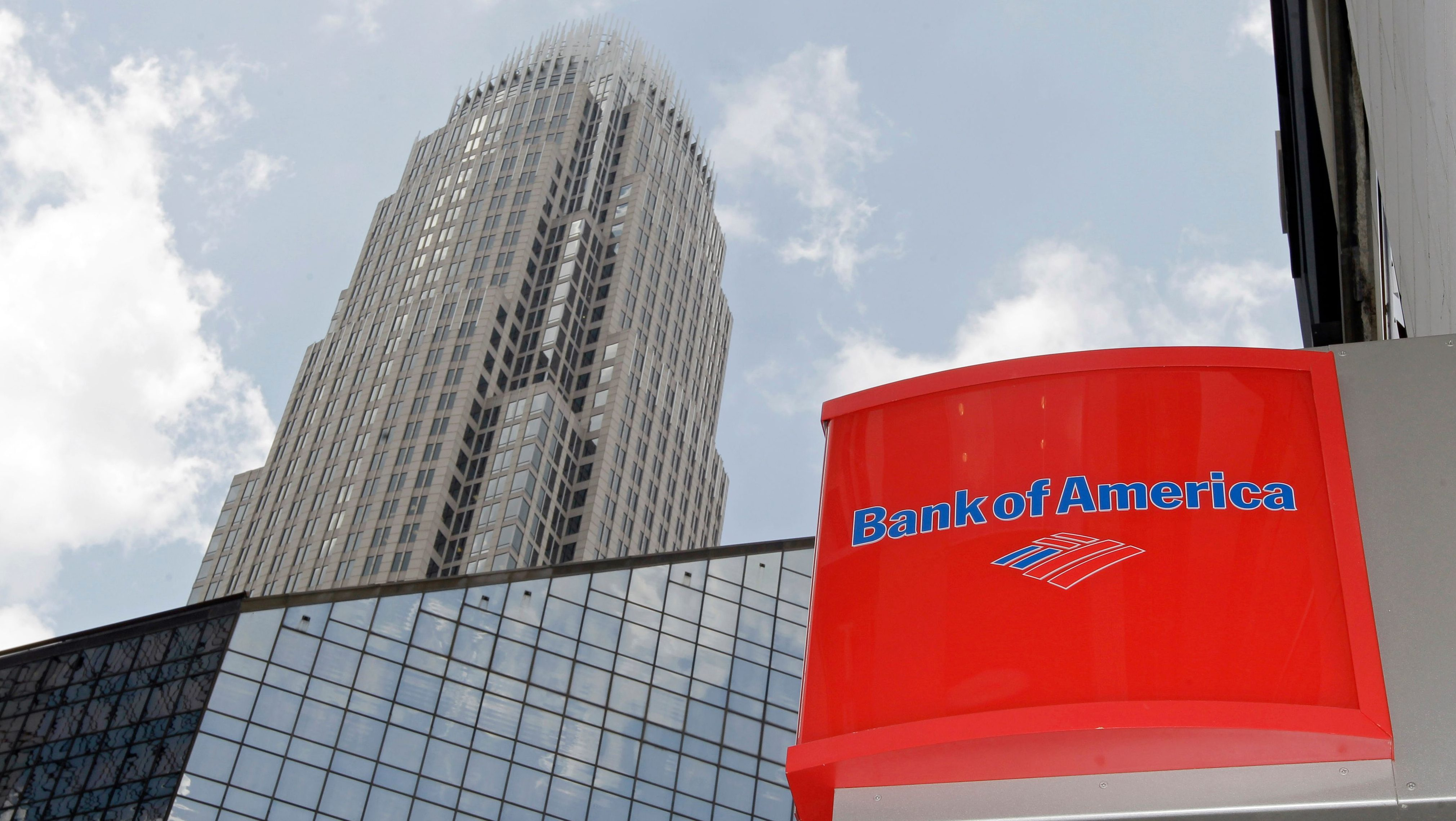 Bank of America's headquarters are shown in Charlotte, N.C.