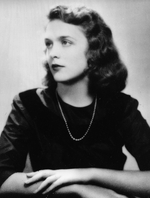 Barbara Pierce, later Bush