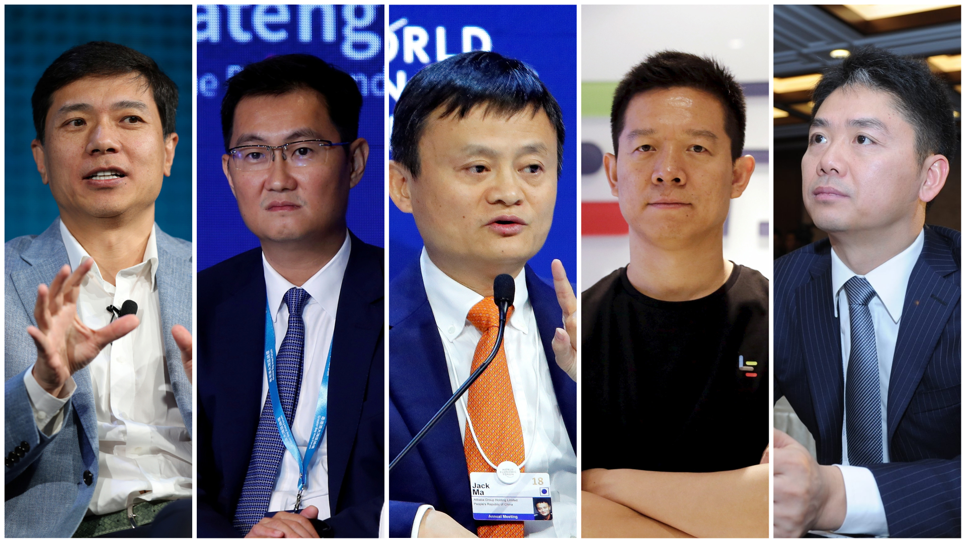 The Nicknames Of China S Tech Titans Including Alibaba S Jack Ma