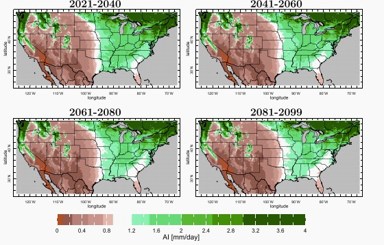 The 100th Meridian shifts east.