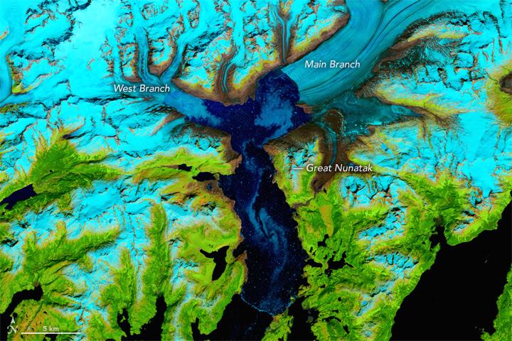 Columbia Glacier, June 15, 2017.