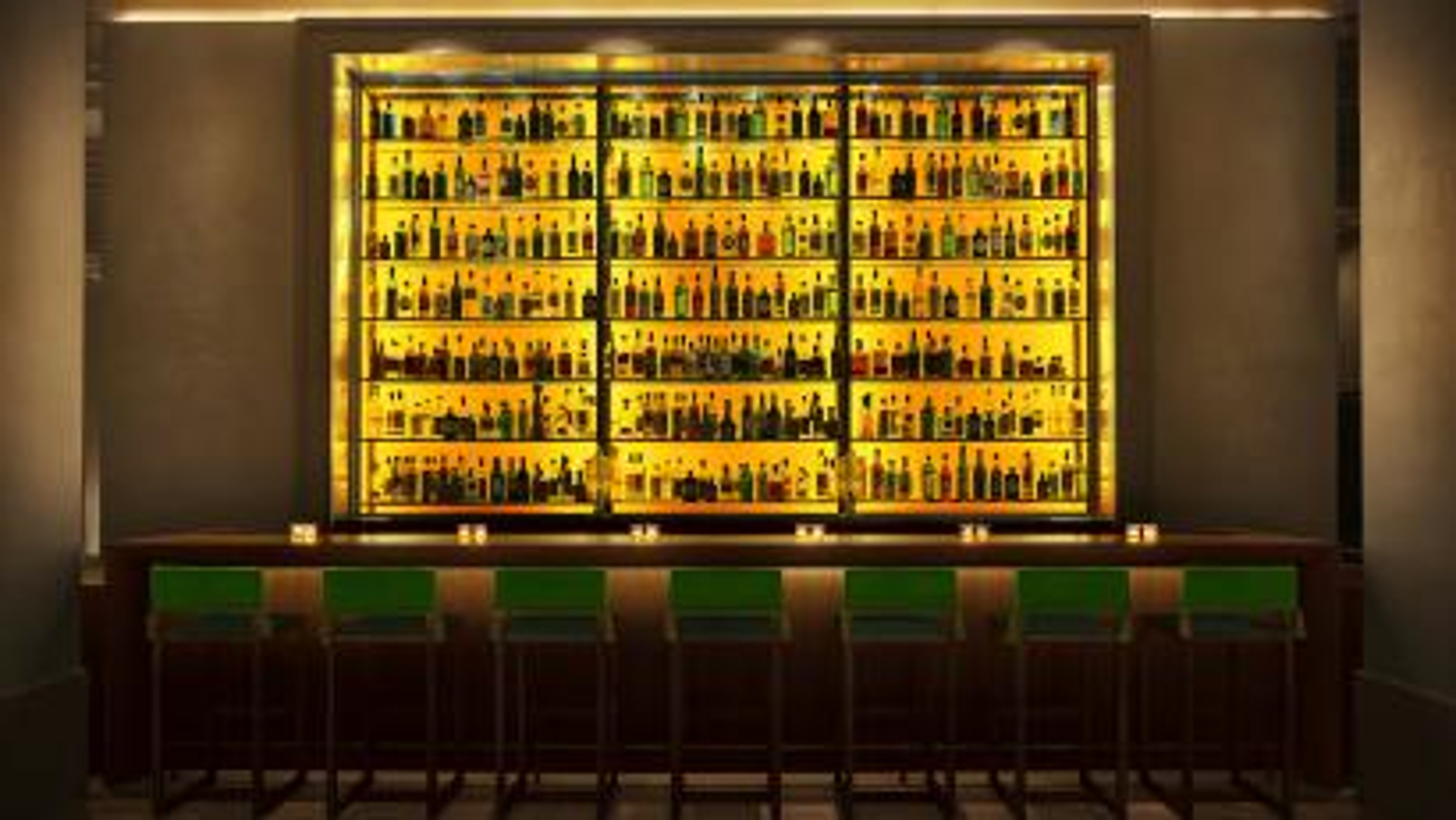 Bottles hotel bar