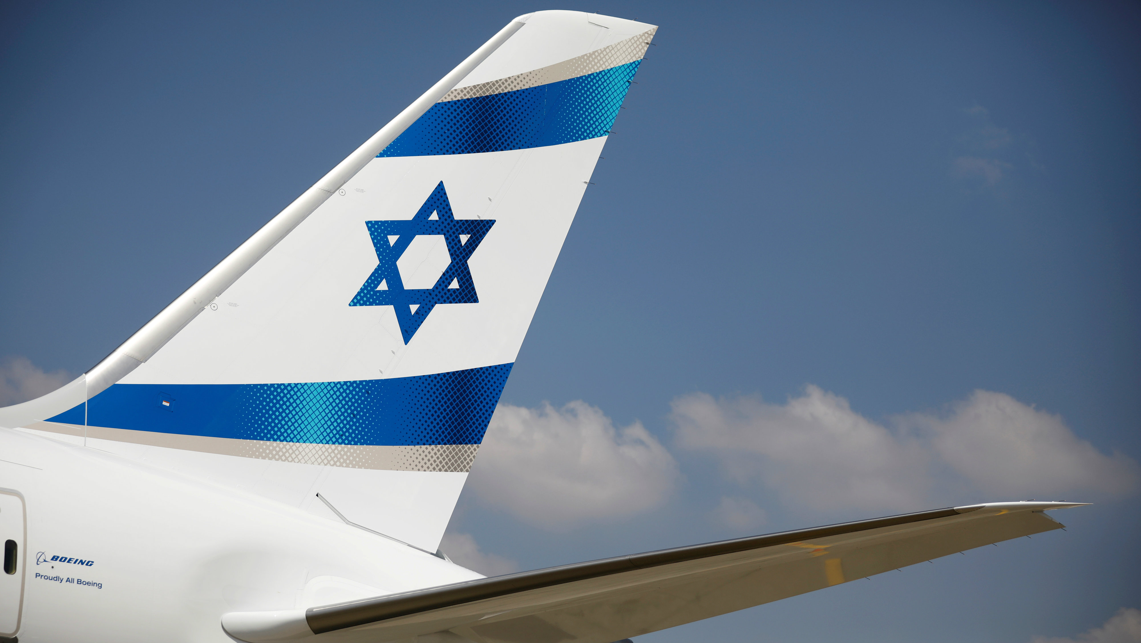 Star of David airplane wing