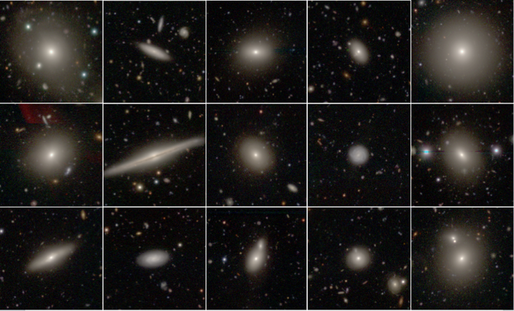 A selection of SAMI galaxies with the Hyper Suprime Cam on the Subaru telescope in Hawaii.