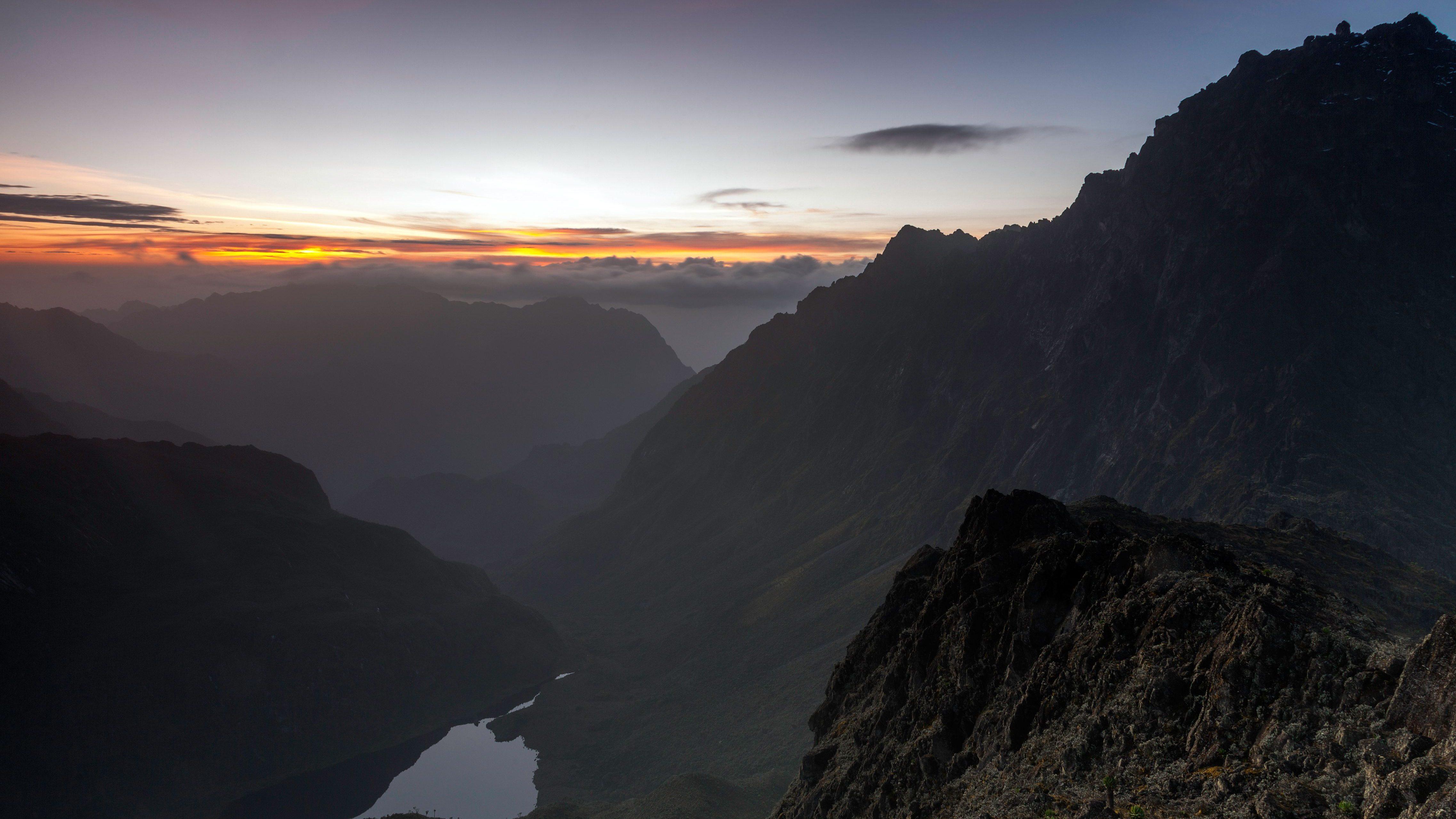Mt. Baker, Rwenzori Mountains, Uganda