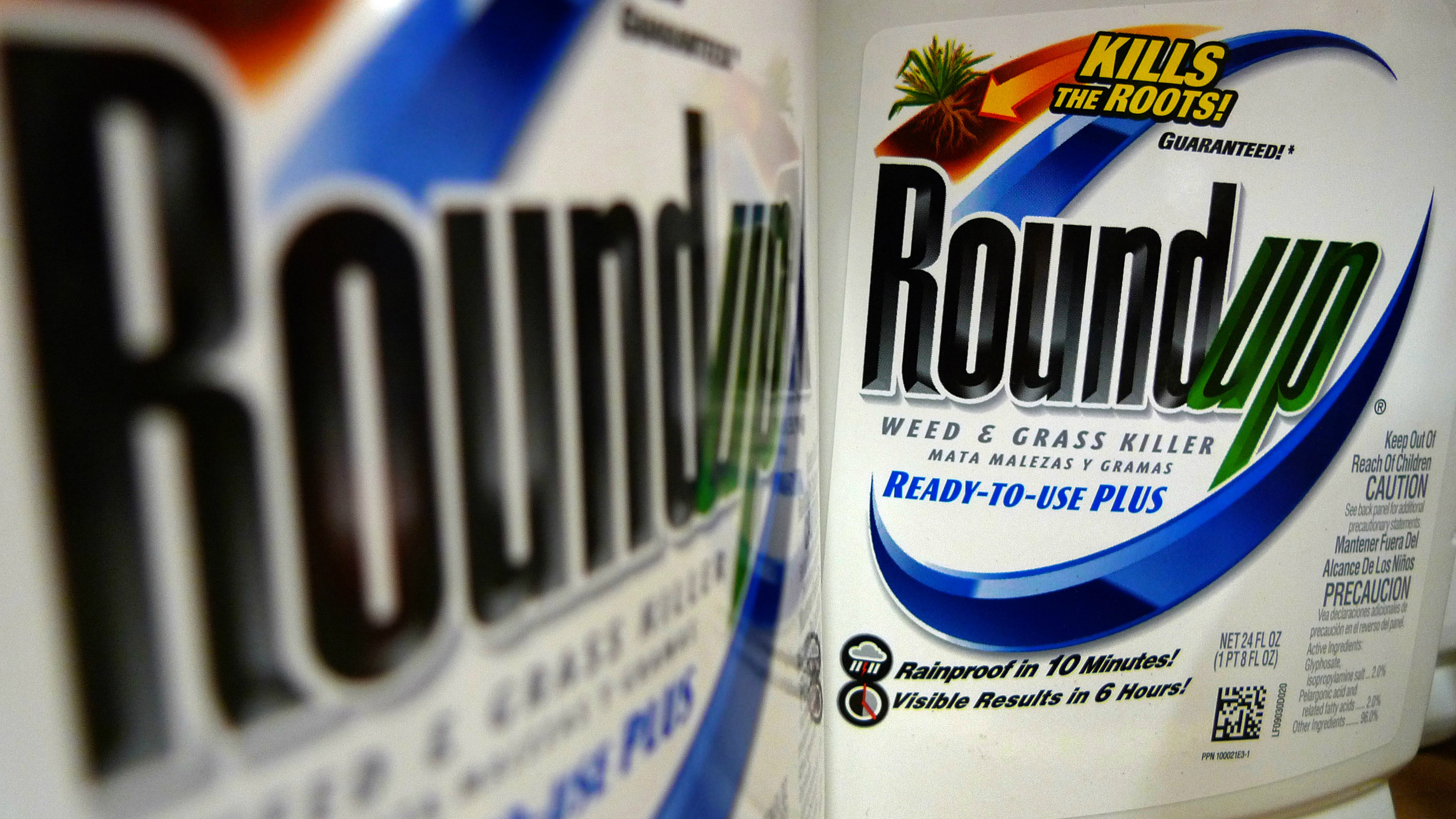 The FDA is finding traces of glyphosate in the food supply.