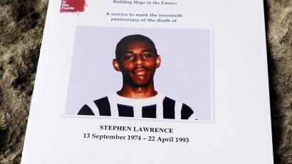 Stephen Lawrence memorial service