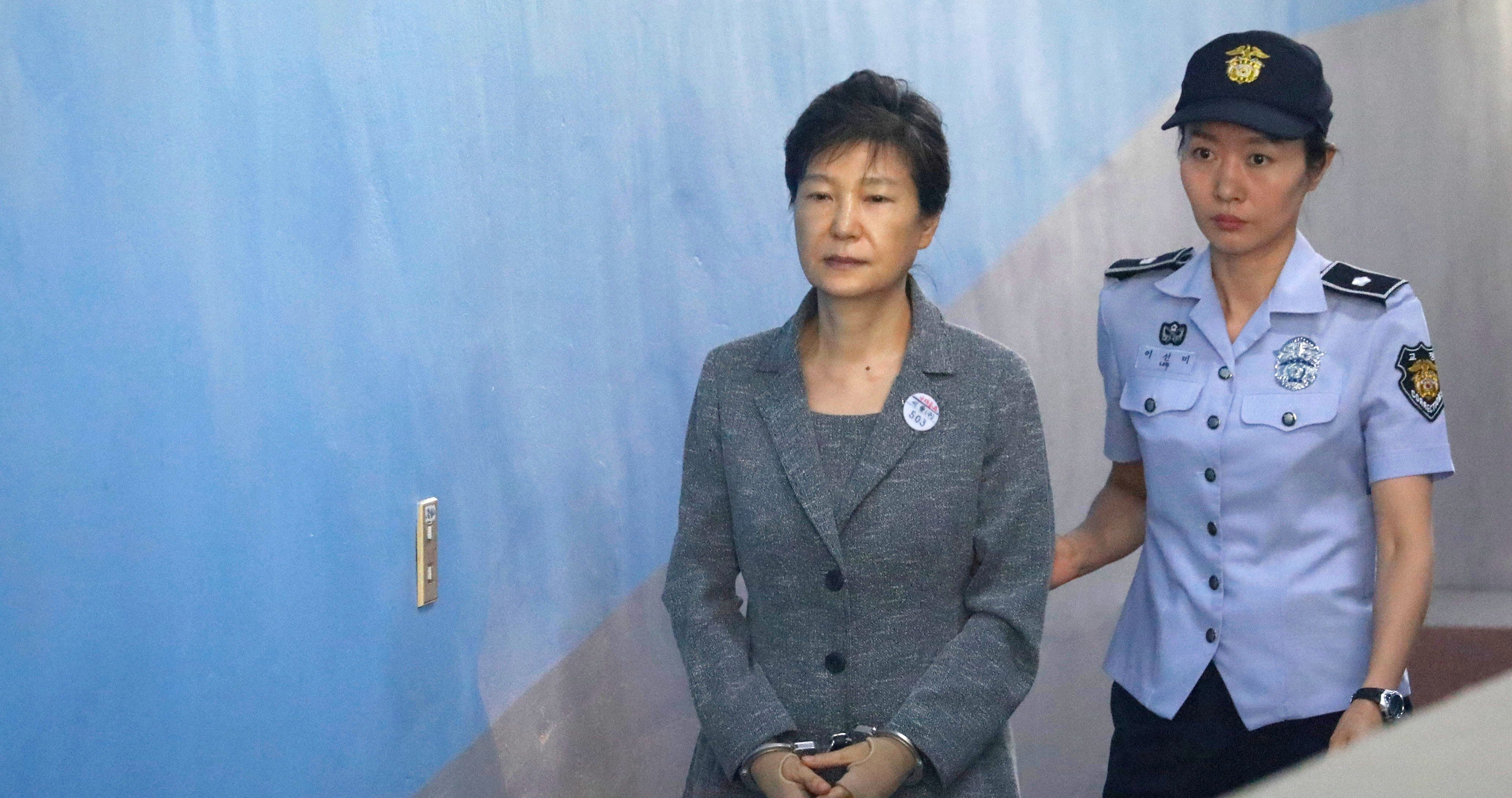 South Korean Former President Park Geun-hye on trial