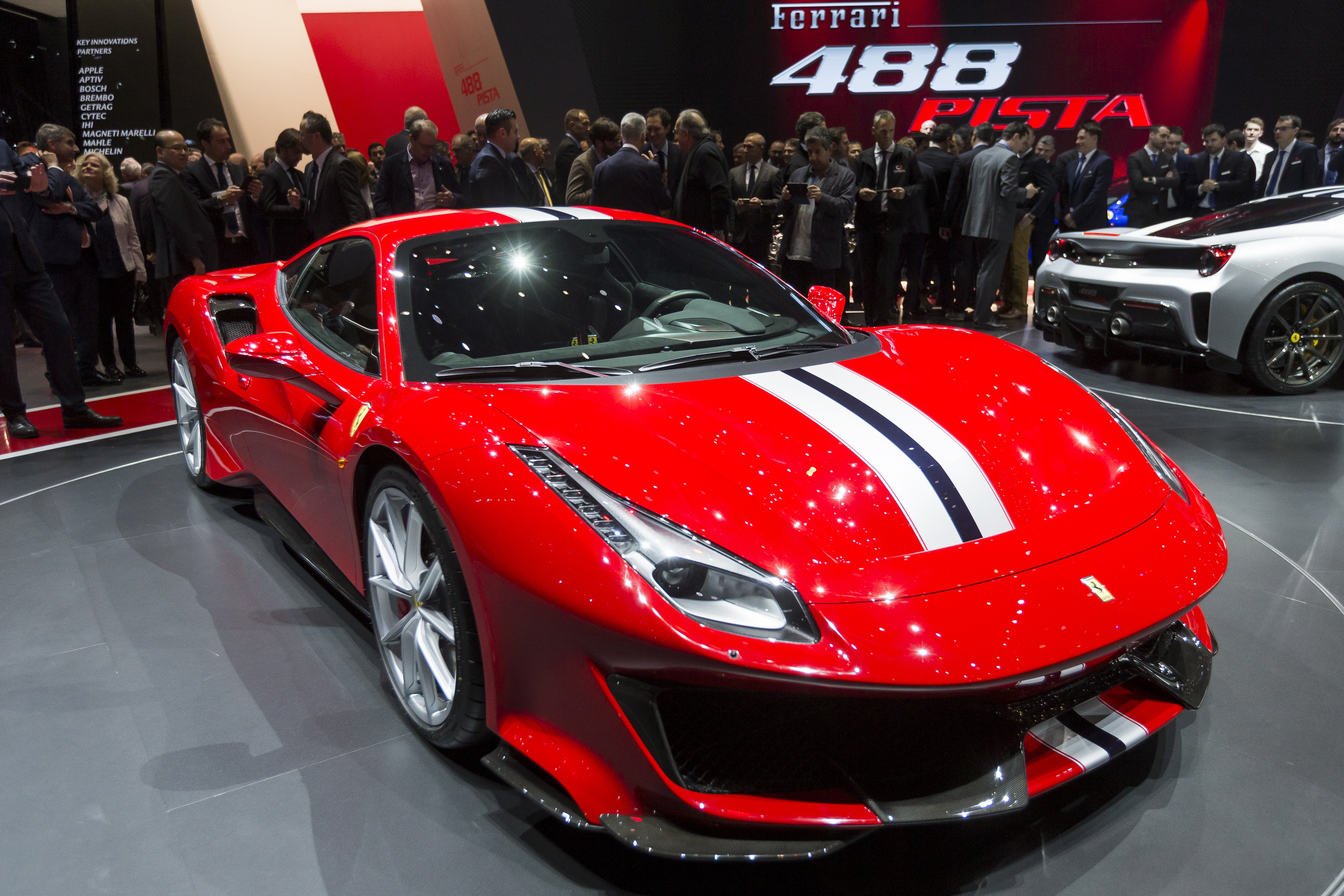 Electric Cars Ferrari Is Testing A Hybrid Supercar Quartz - Ferrari car show