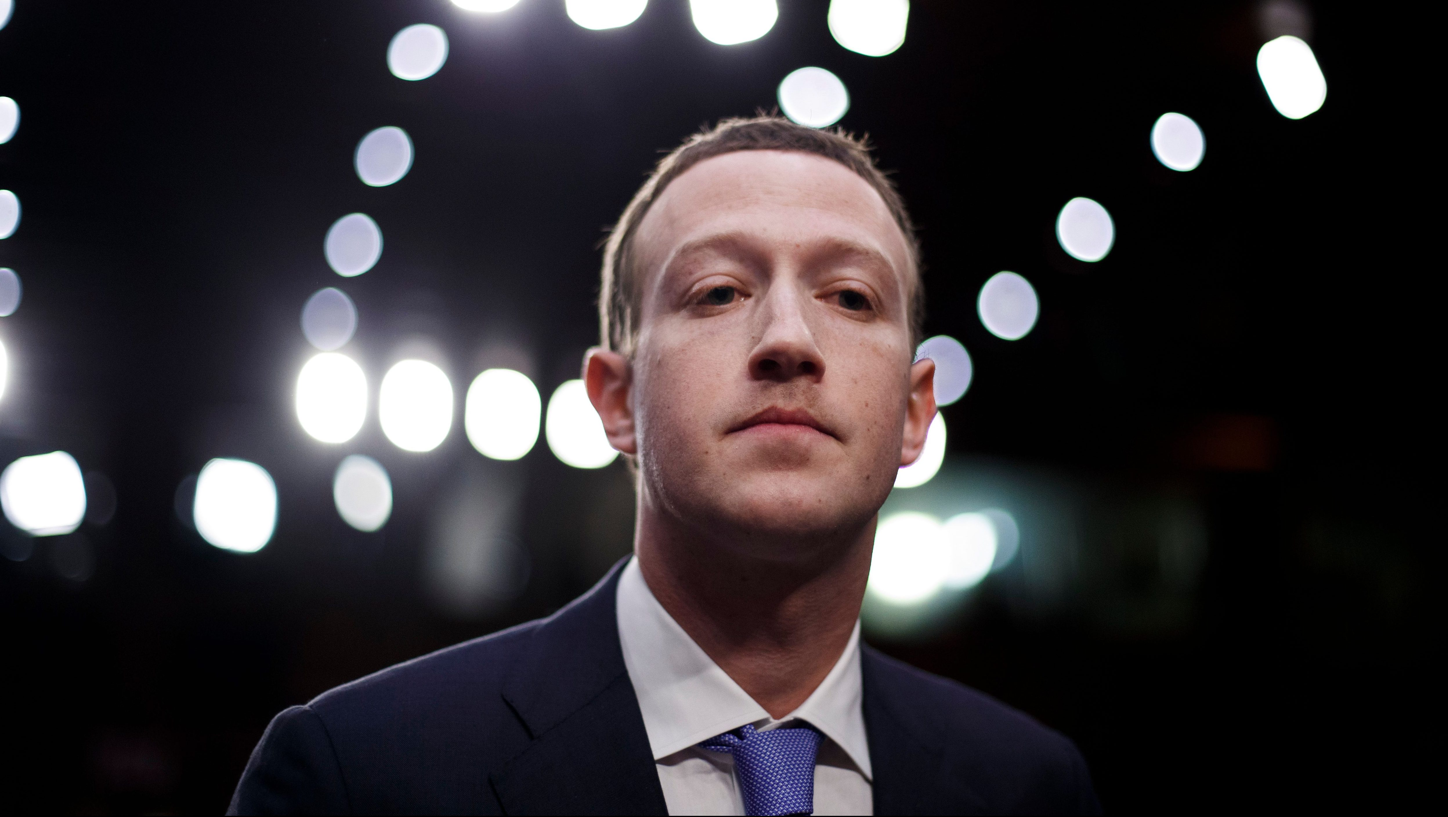 CEO of Facebook Mark Zuckerberg testifies before the Senate Commerce, Science and Transportation Committee and the Senate Judiciary Committee joint hearing on 'Facebook, Social Media Privacy, and the Use and Abuse of Data' on Capitol Hill in Washington, DC, USA, 10 April 2018. Zuckerberg is testifying before two Congressional hearings this week regarding Facebook allowing third-party applications to collect the data of its users without their permission and for the company's response to Russian interference in the 2016 US presidential election.