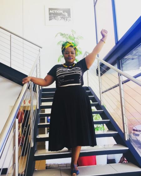 South African women have been wearing black with headscarves to reclaim Winnie Mandela's legacy