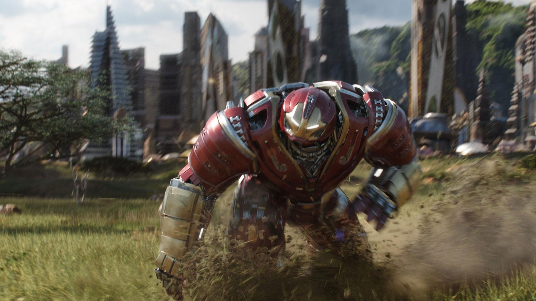"""Avengers: Infinity War"" scene"