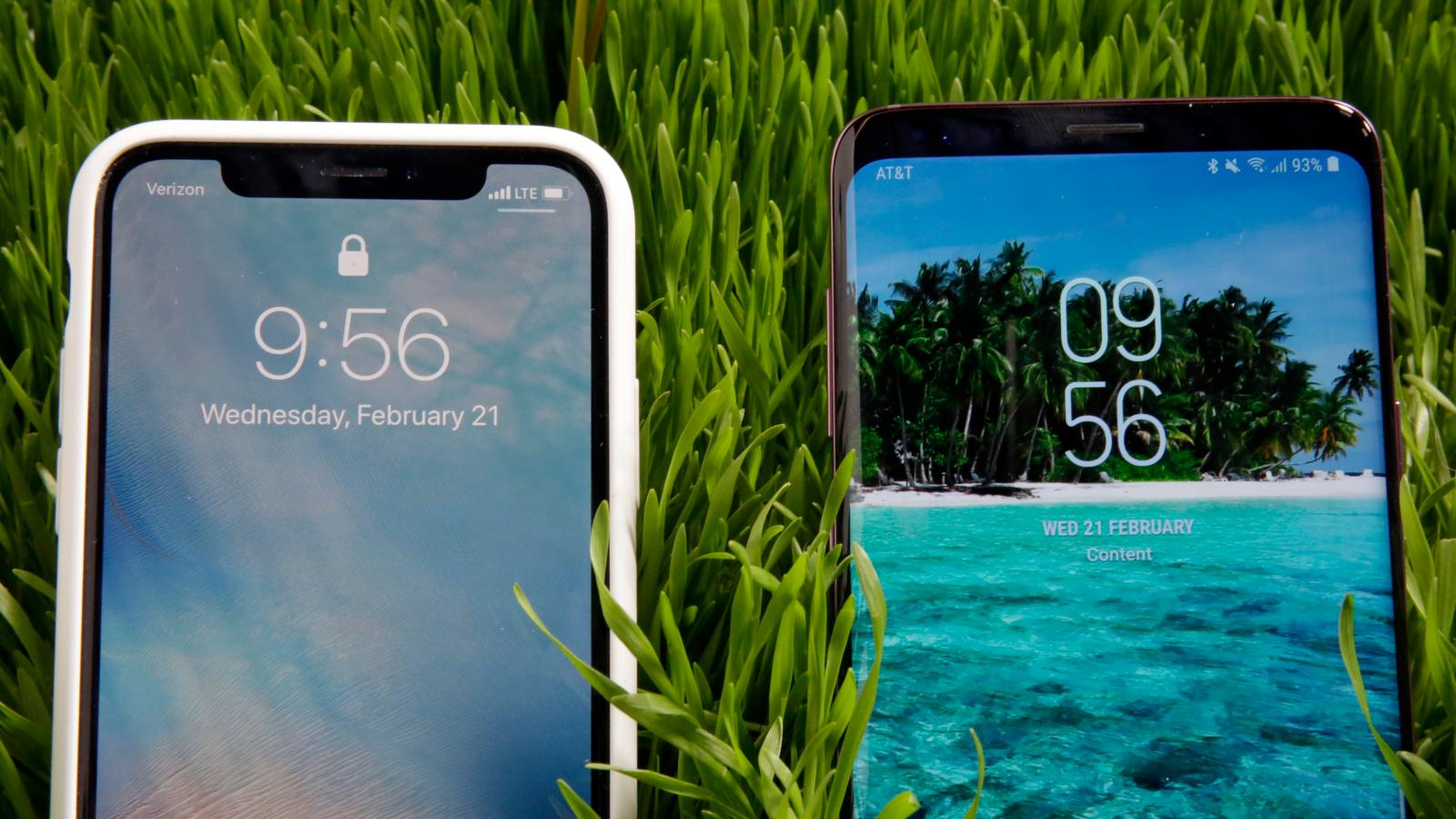 Iphone X Versus Samsung Galaxy S9 Comparison Whats Really The
