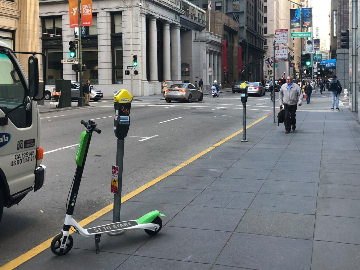 Electric scooter startup Bird wants to make it legal to ride