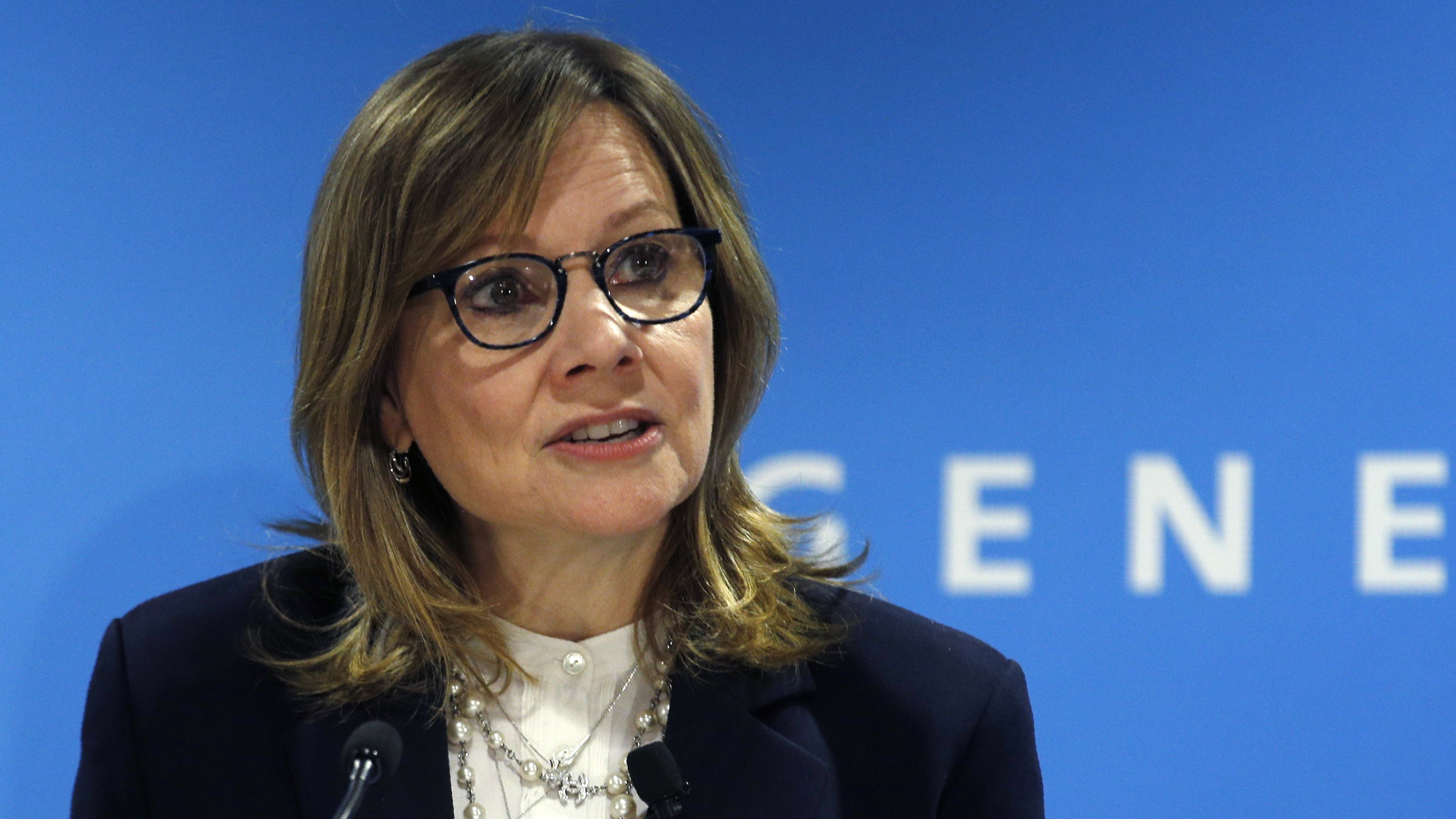 GM CEO Mary Barra on her three favorite questions to ask in