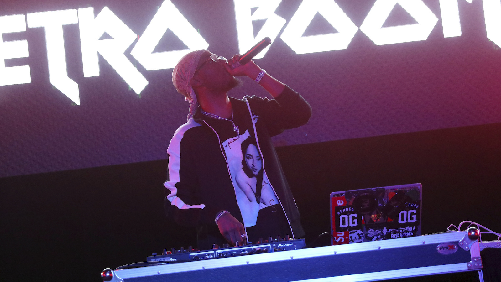 Metro Boomin performs during UMG's Music is Universal Showcase Presented by O Organics and PUMA at SXSW on Friday, Mar. 17, 2017 in Austin, Texas. (Photo by Rick Kern/Invision for UMG/AP Images)