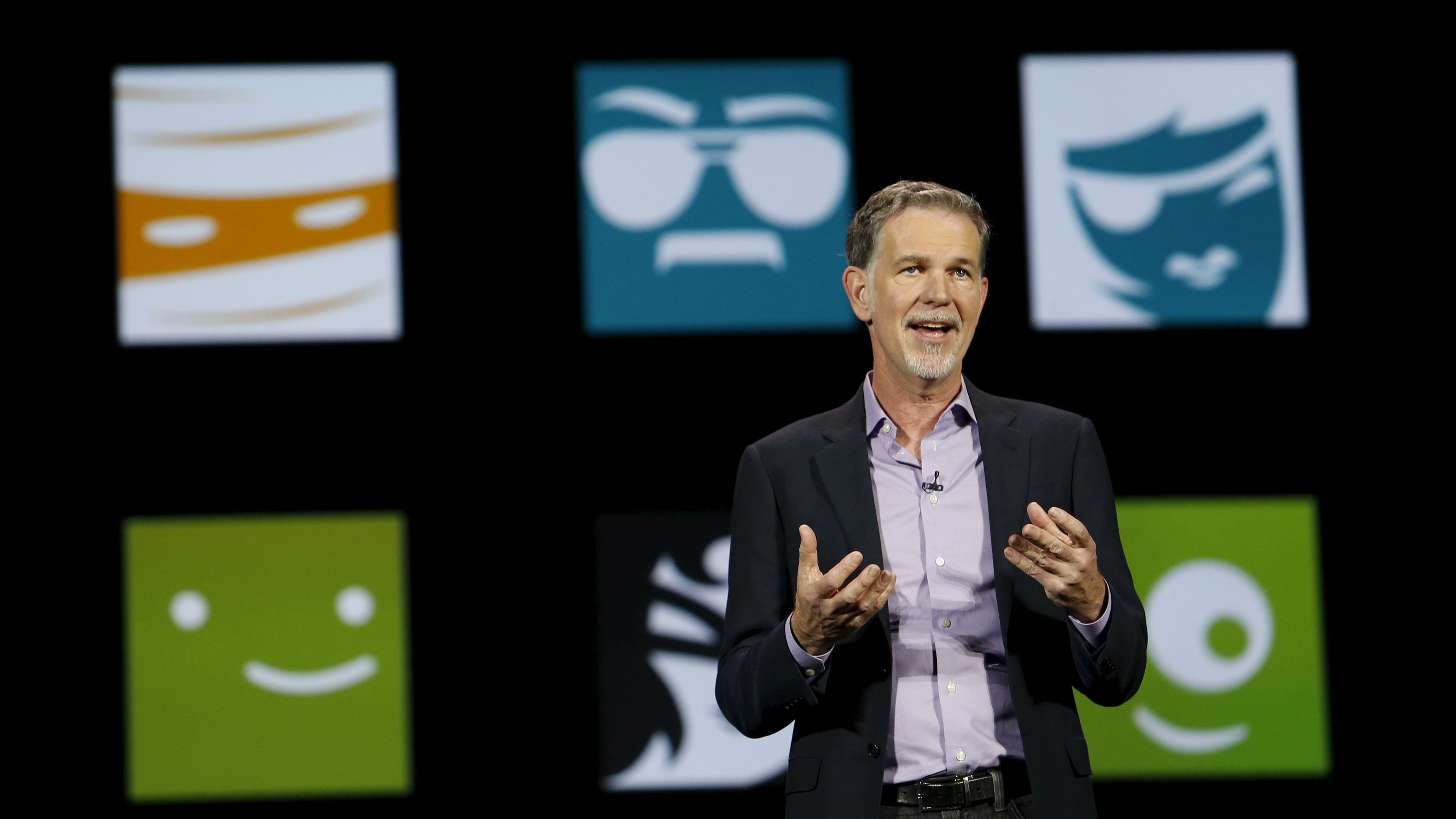 Netflix CEO Reed Hastings says apps are the new TV channels