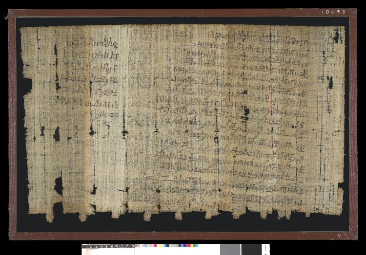 Known as Papyrus Salt 124.          Papyrus; Hieratic legal text recto (2 columns) and verso (2          columns), recording complaint by Amennakht to the Vizier about          the actions of Paneb.