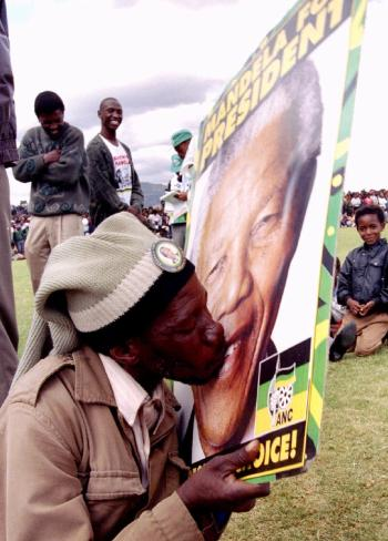 Freedom Day: South Africans and Google commemorate their first democratic election, remembered in archive photos.