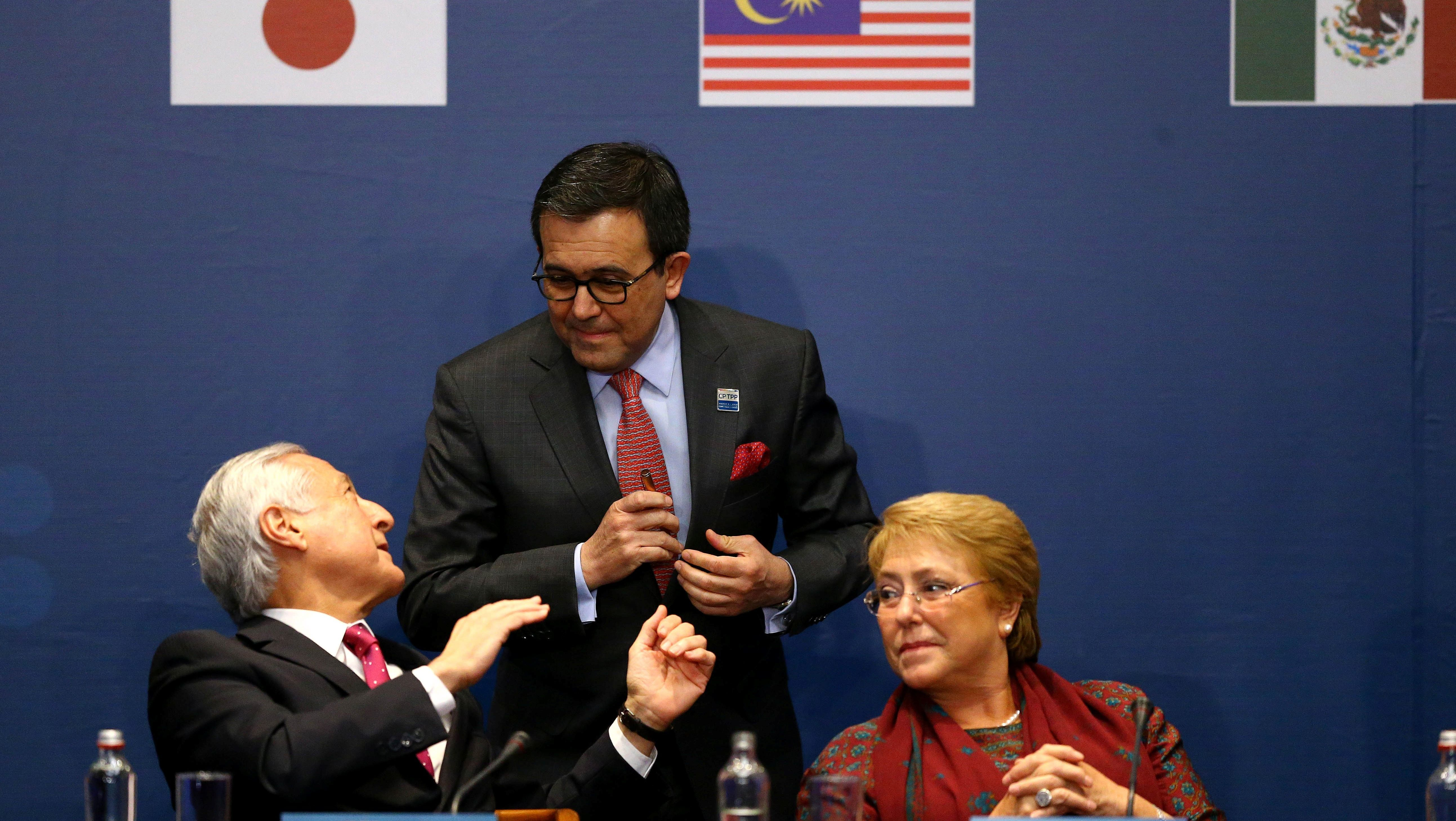 signing of the Trans-Pacific Partnership (TPP) trade deal